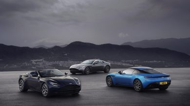 The history of Aston Martin DB cars