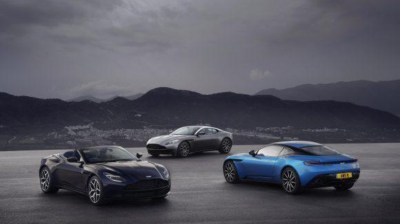 The history of Aston Martin DB cars