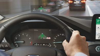 Ford utilises fighter jet tech in new Focus' head-up display