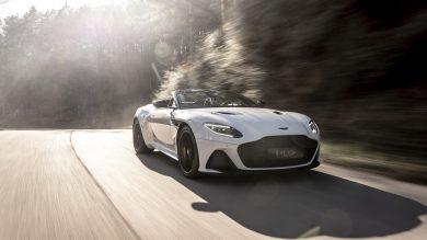 Aston Martin DBS Superleggera Volante revealed