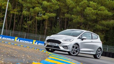 The road to Le Mans in the Ford Fiesta ST-Line