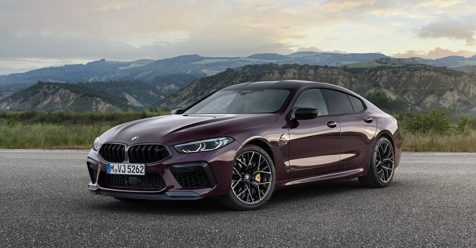Four-door BMW M8 Gran Coupe revealed
