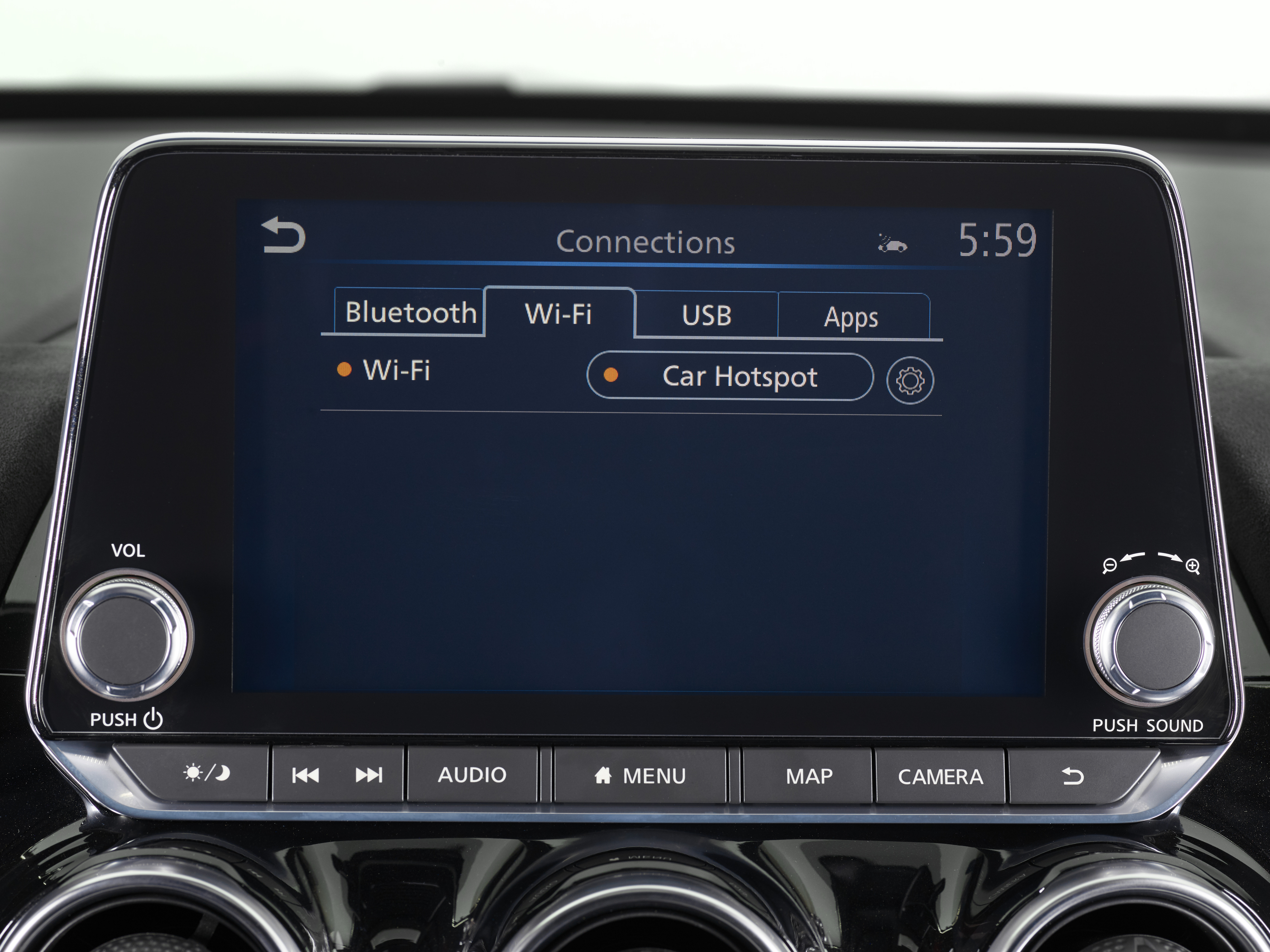 A new infotainment screen heads up the Juke's tech offering