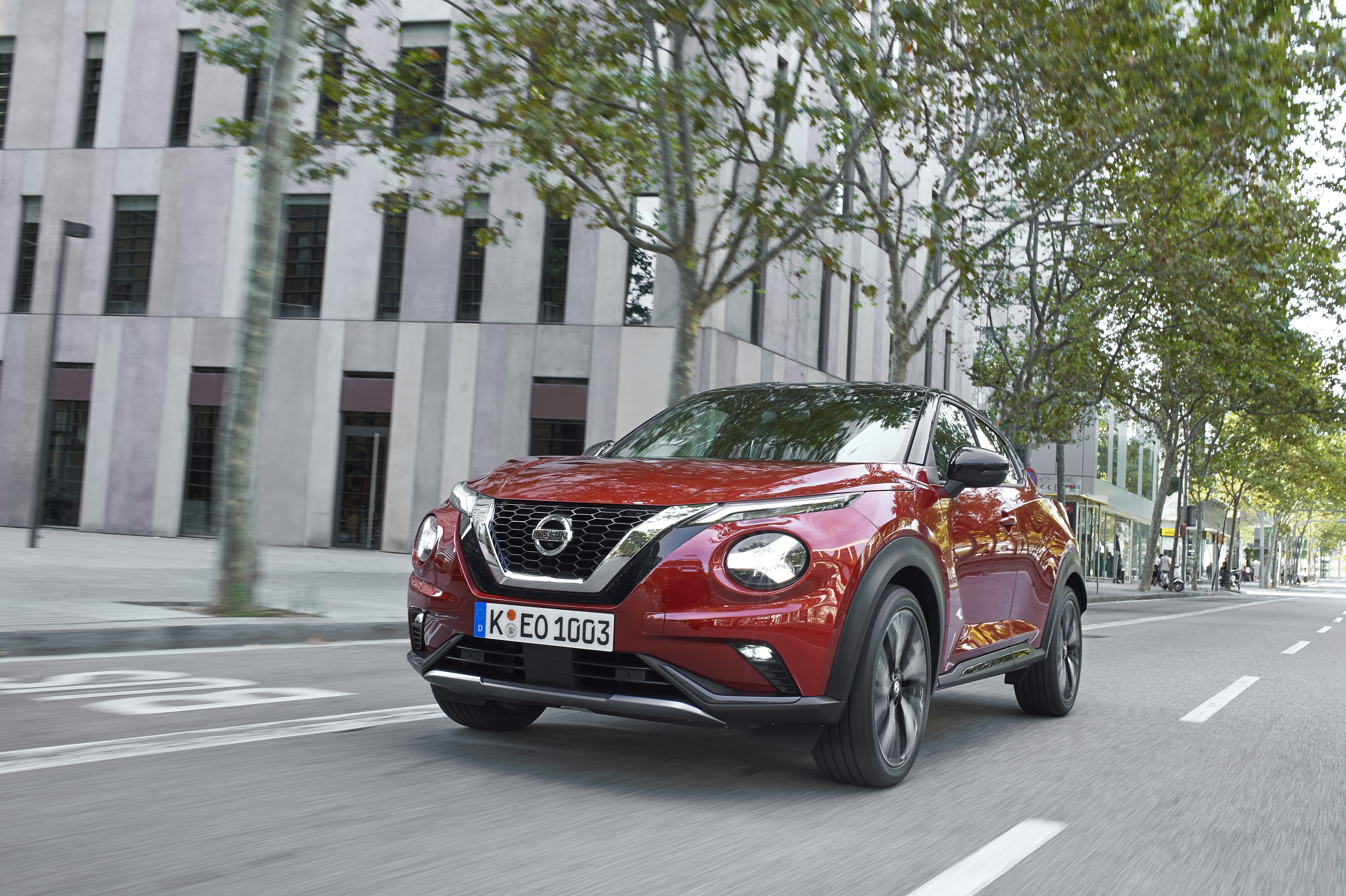 The new Juke arrives to replace the succesful predecessor