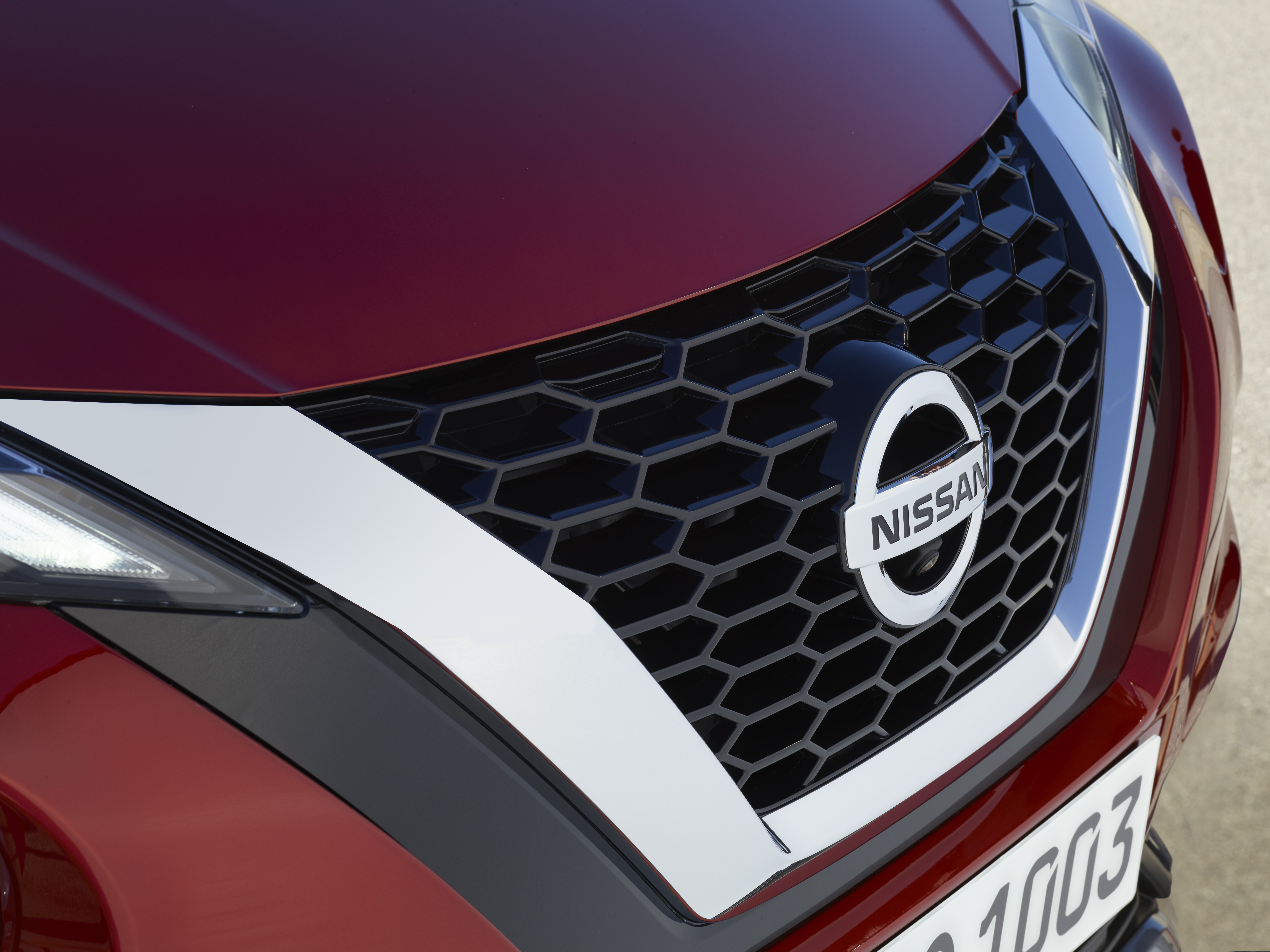 A new grille features on the latest Juke