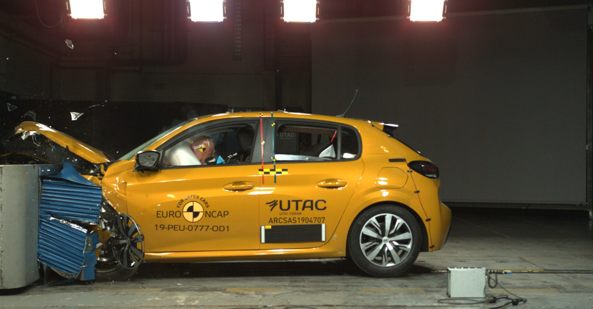 New Peugeot 208 just misses five-star Euro NCAP score