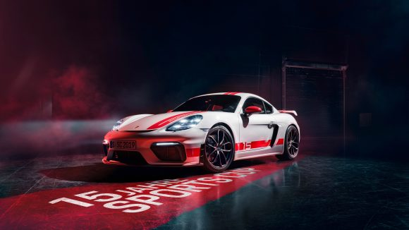 Porsche unveils limited-edition Cayman GT4 Sports Cup Edition