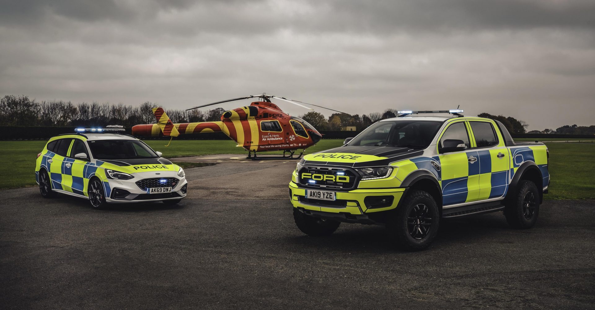 South Wales Police trials Ford Focus ST and Ranger Raptor