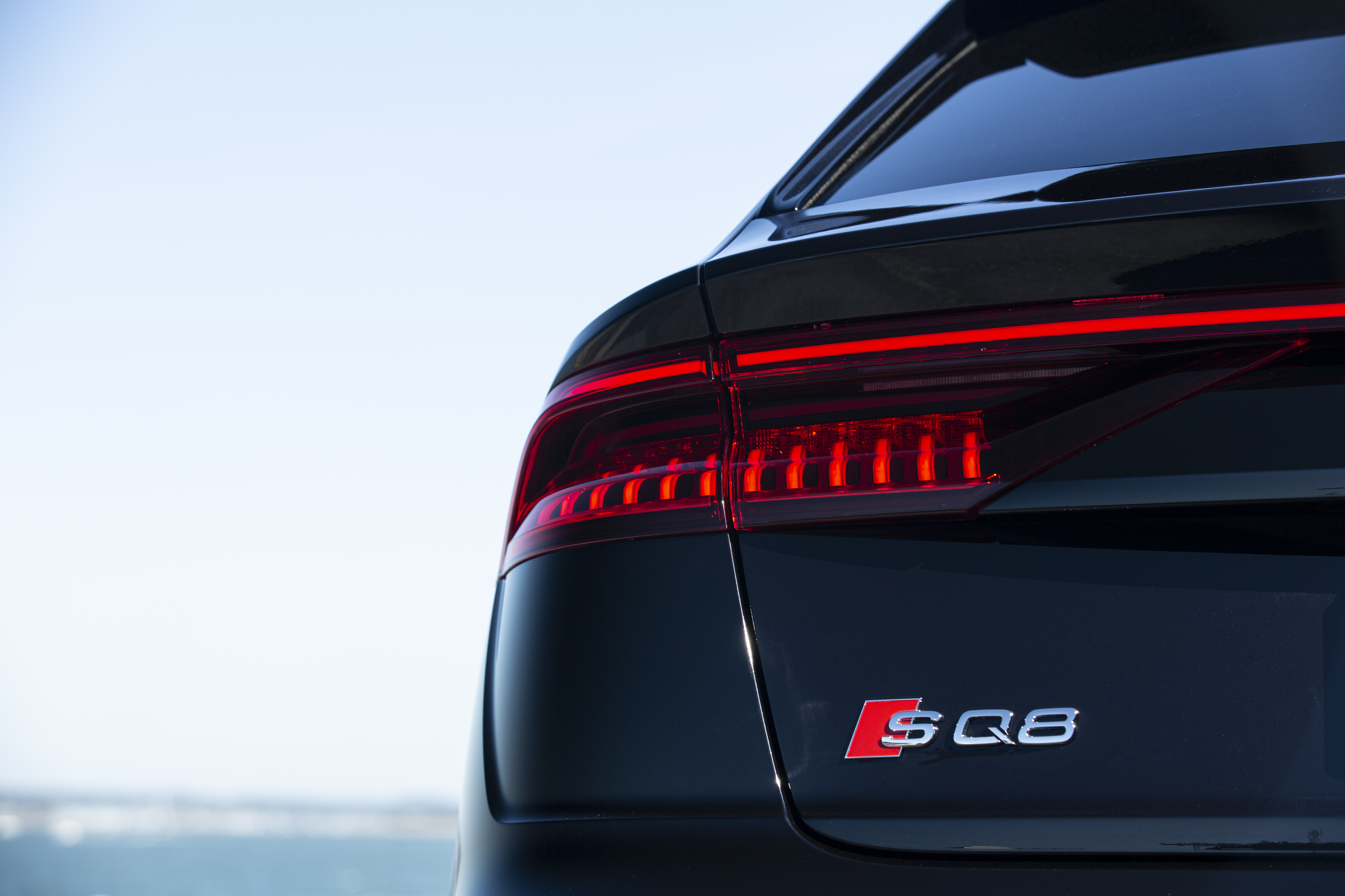 The SQ8 is based on the same platform as the Q7