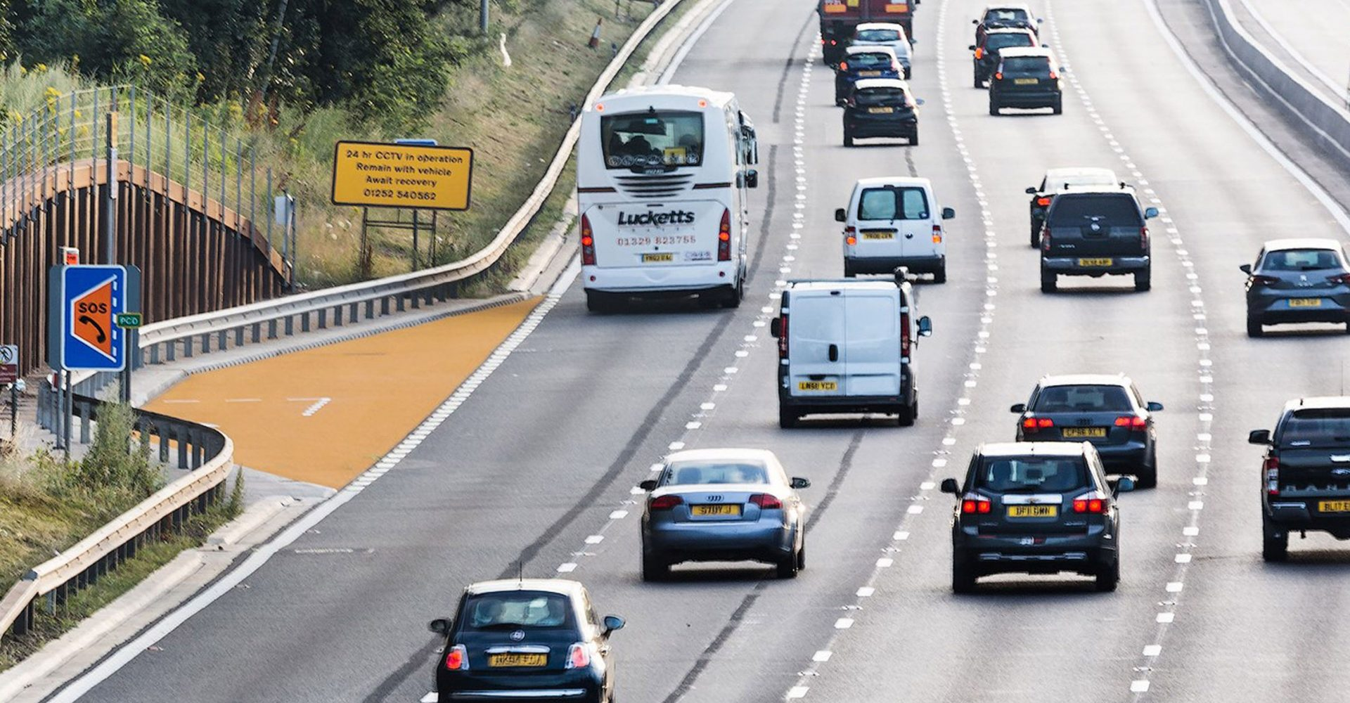 Drivers have serious concerns about smart motorway safety, RAC warns