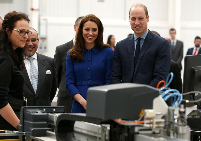 Royal visit to South Yorkshire