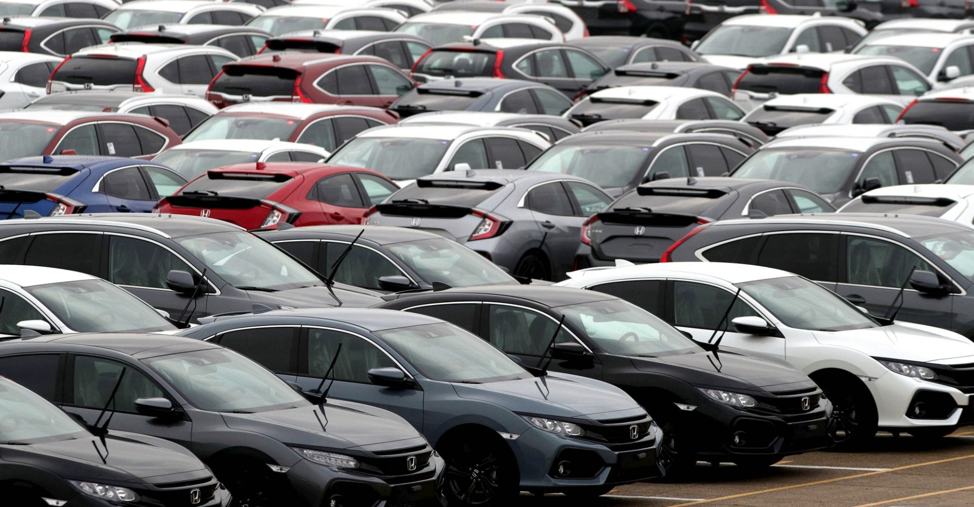 New car market down 6.7% in October