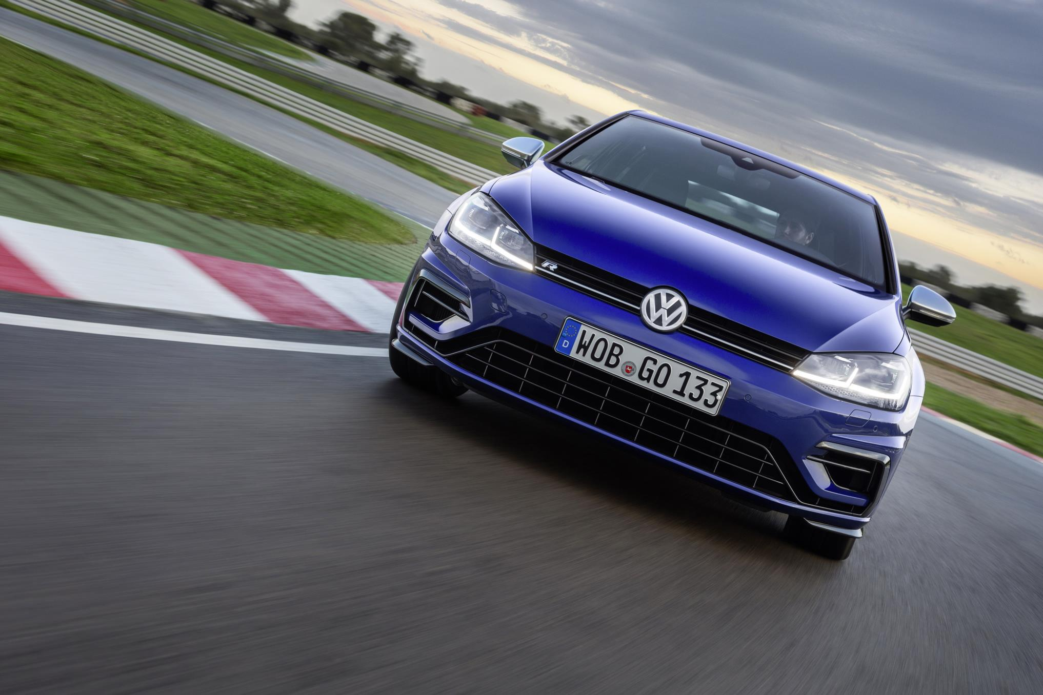 The Golf R's all-wheel-drive system makes it unstoppable in all conditions