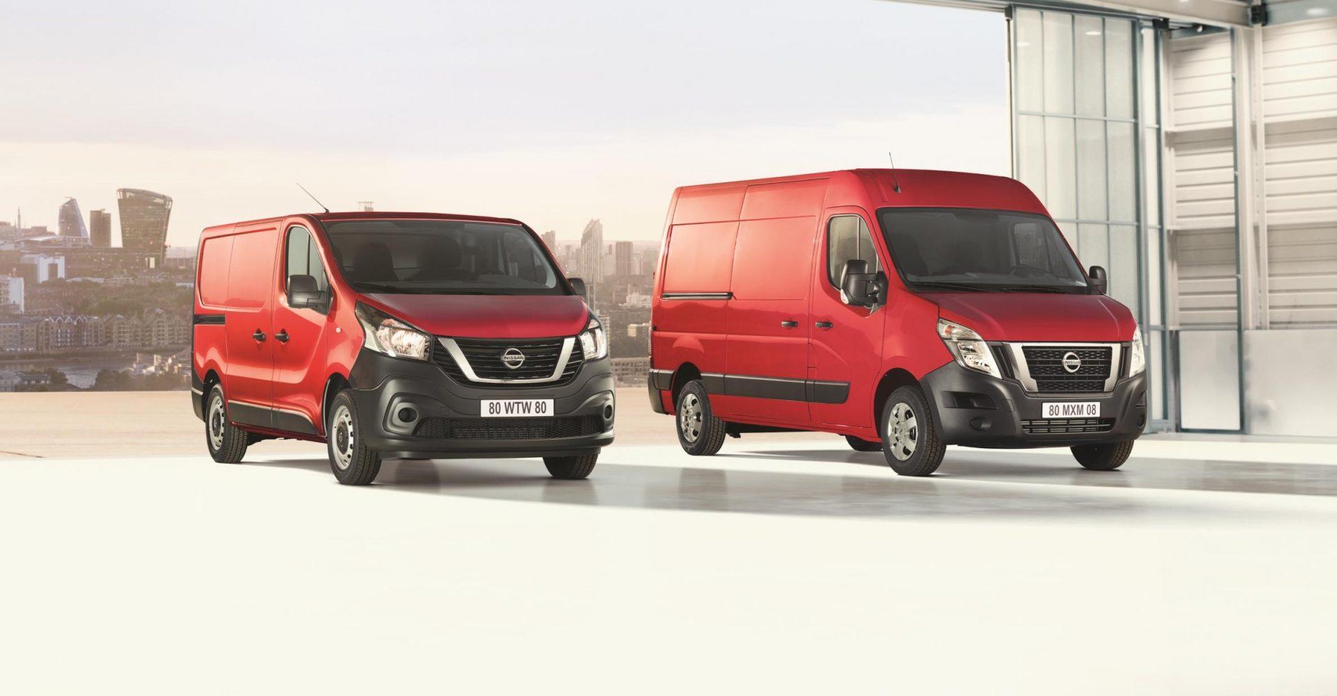 Nissan upgrades NV300 and NV400 vans