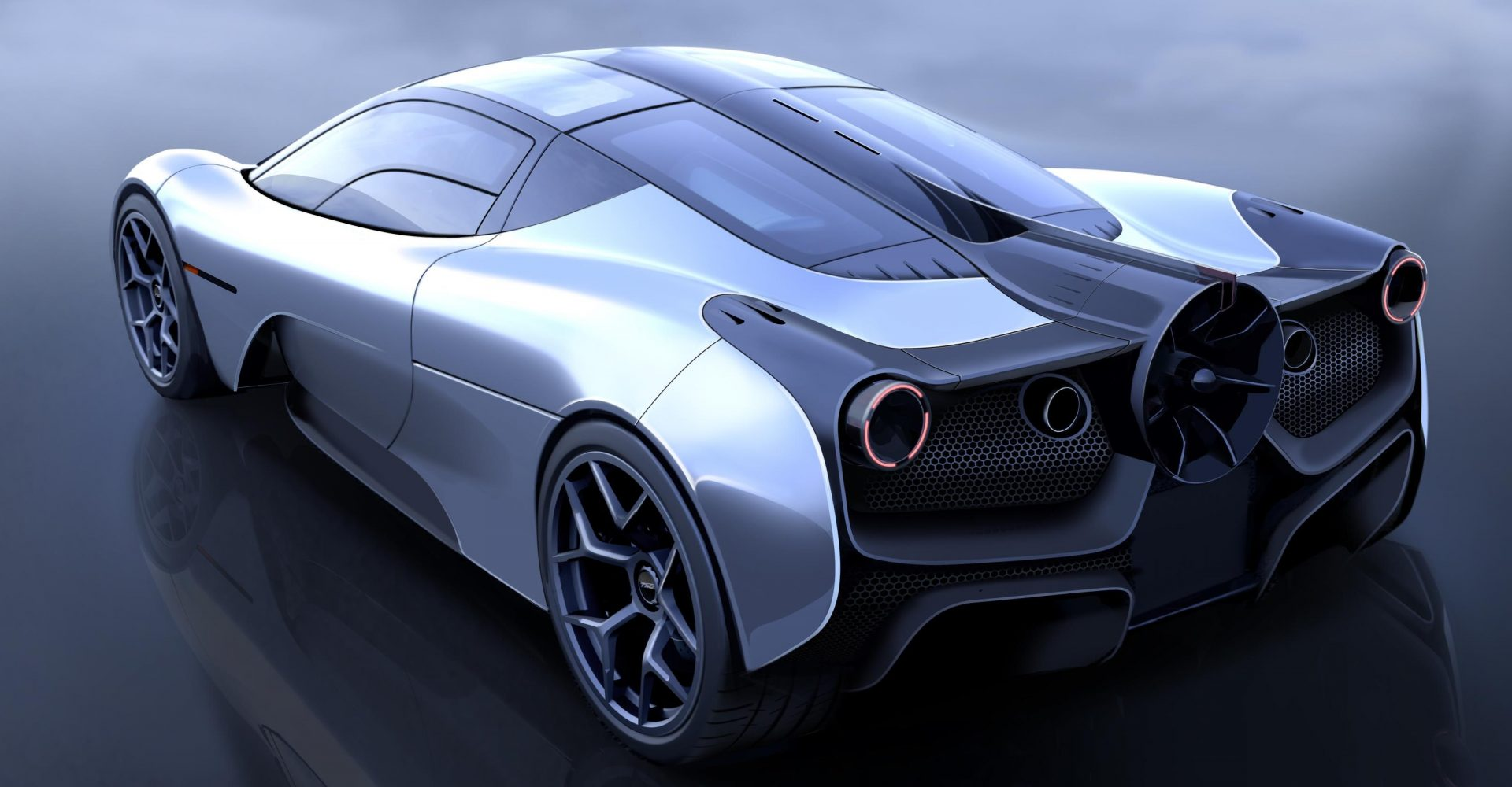 New image of Gordon Murray Automotive T.50 supercar showcased