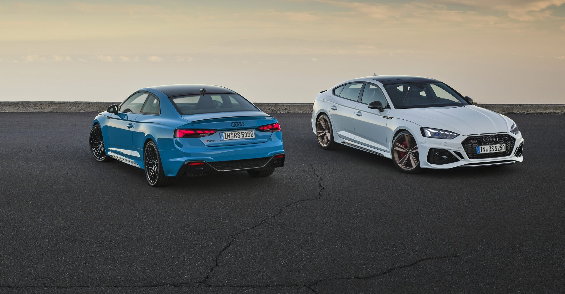 Audi brings RS5 range up to date with visual overhaul