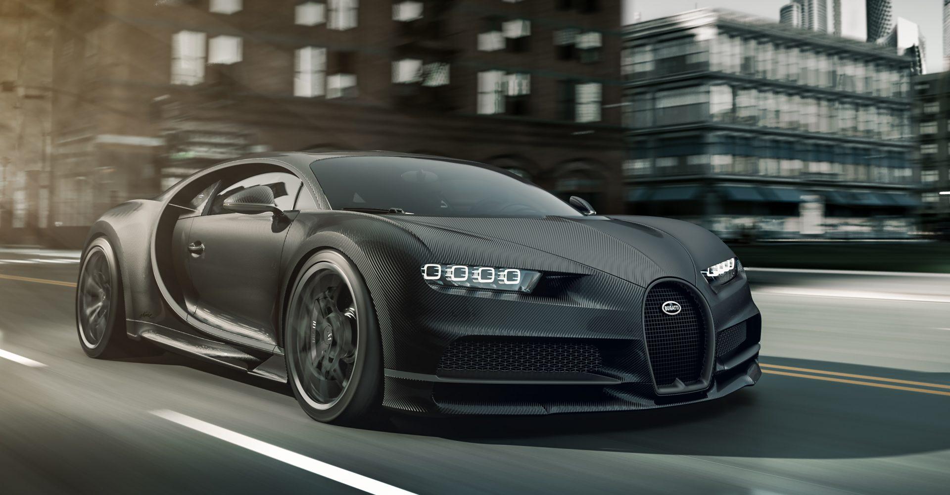 Bugatti reveals carbon-clad Chiron Noire specials