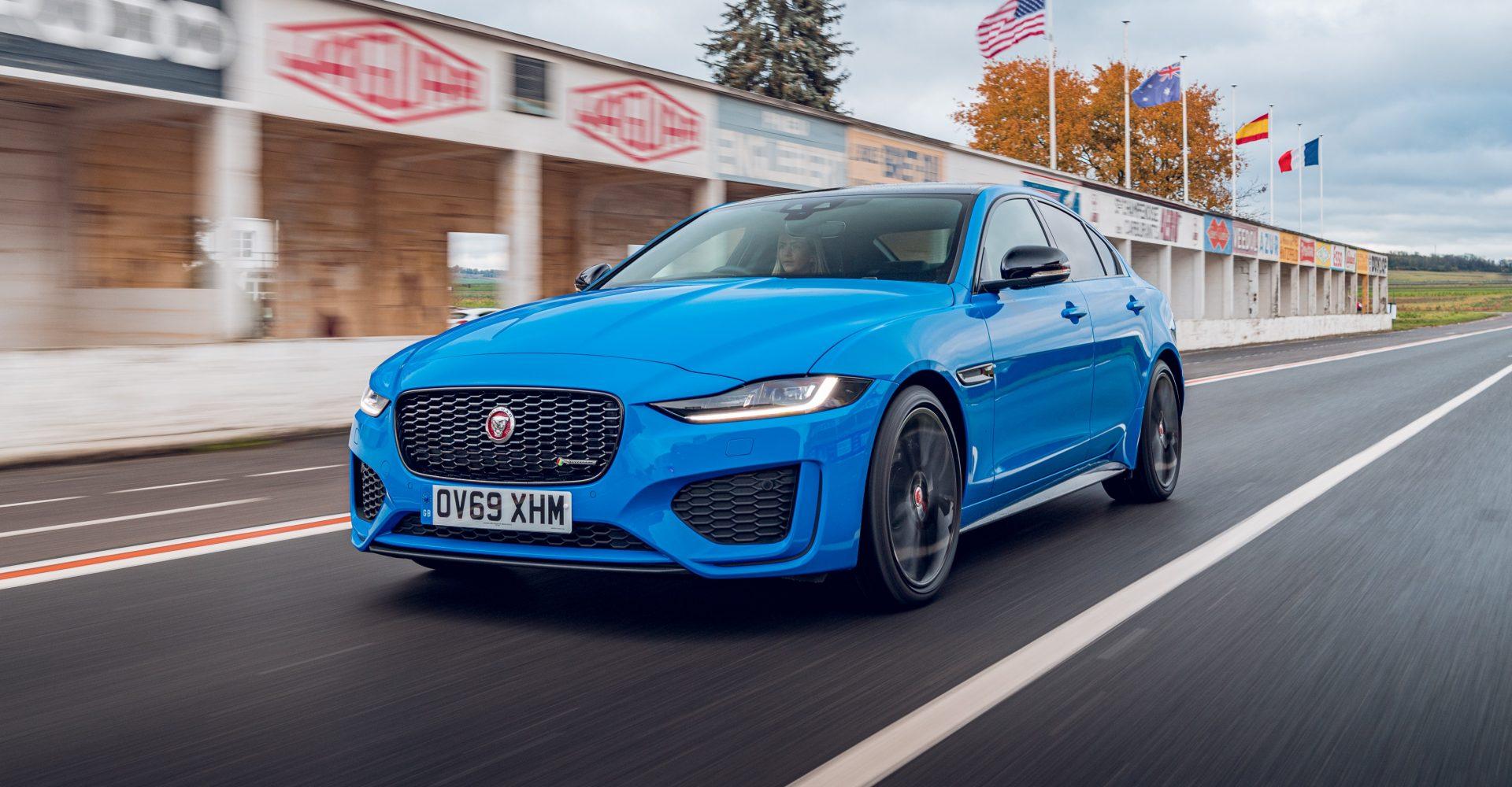 Jaguar reveals motorsport-inspired XE Reims Edition