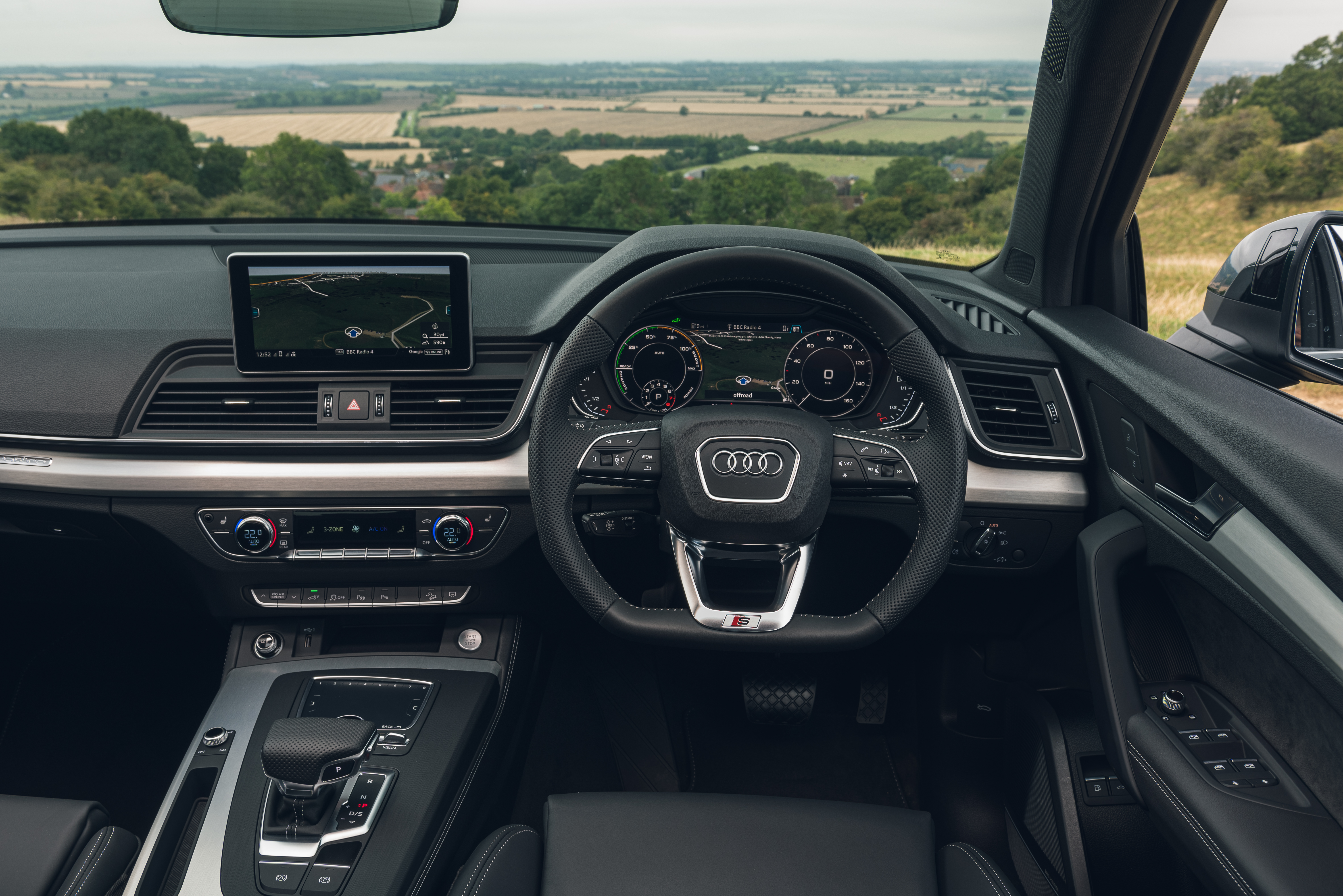 The Q5's interior is very well built