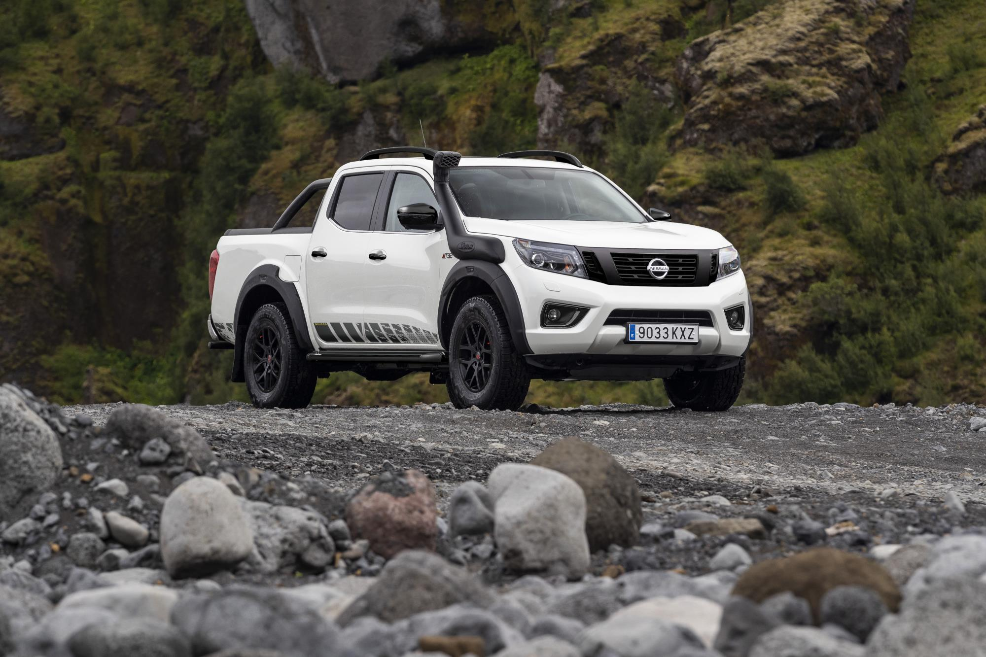 Nissan's new Navara AT32 is unveiled