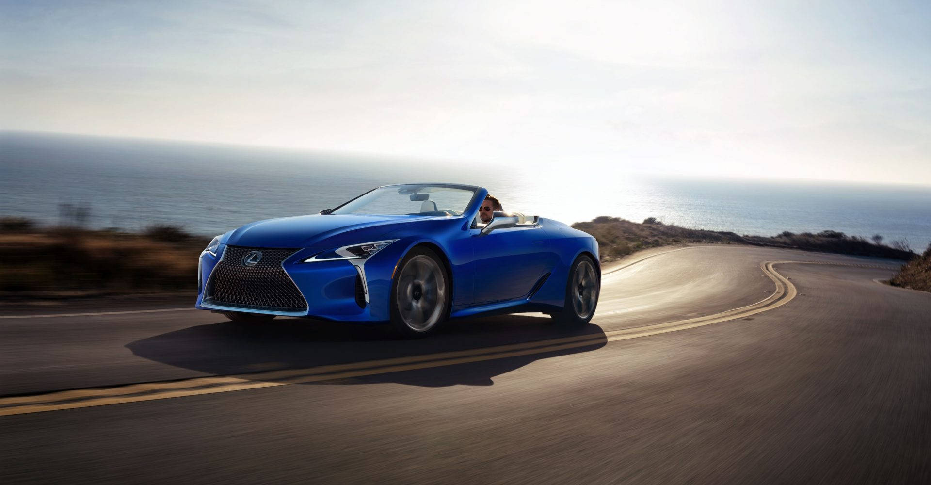 Lexus to auction one-of-a-kind LC500 Convertible for charity