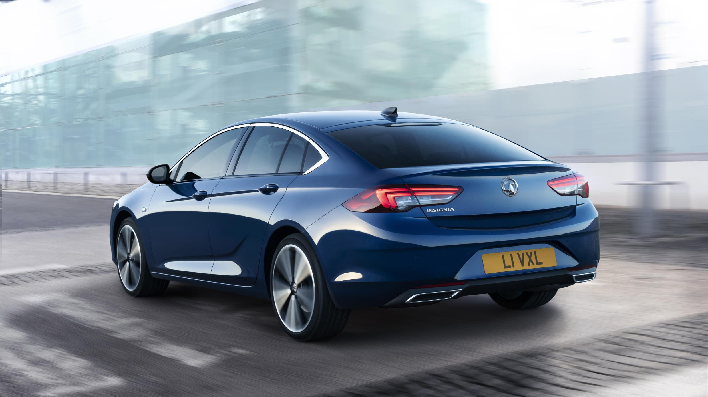 The Insignia revises a popular car for Vauxhall