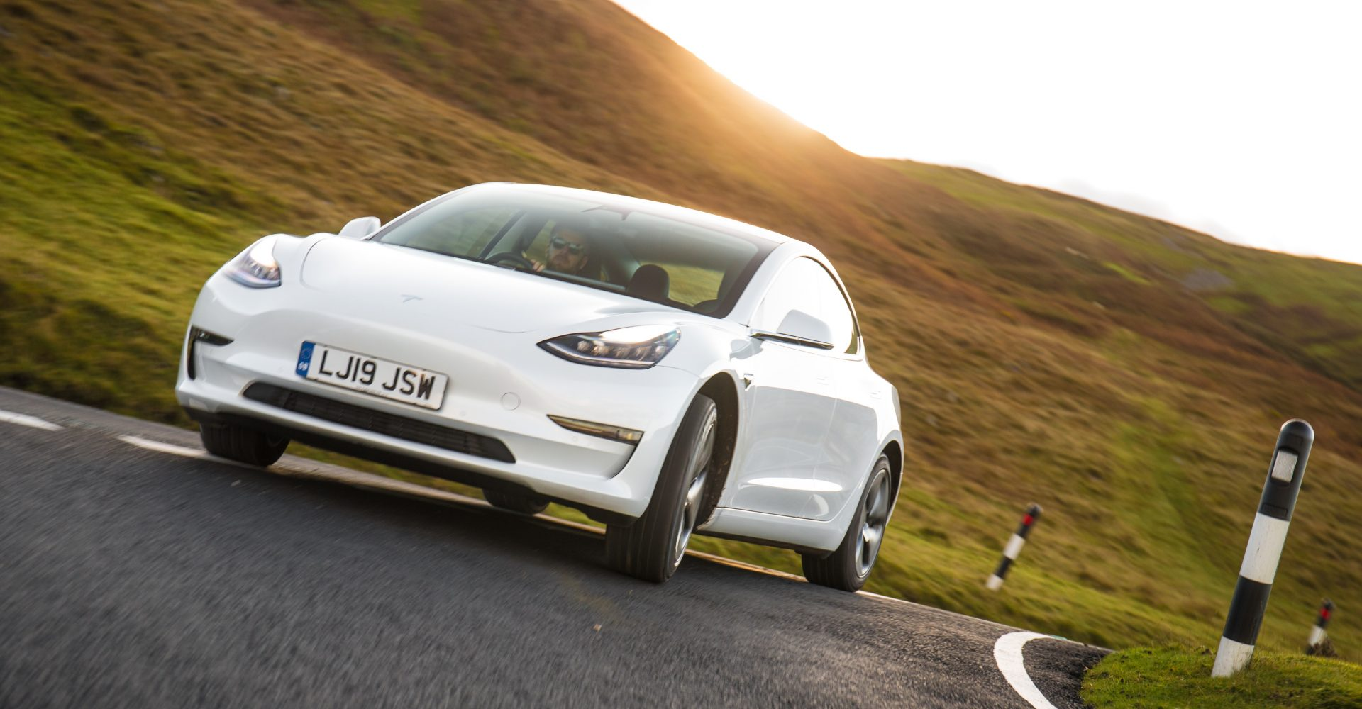 The Tesla Model 3 was the third best-selling car in Europe in December