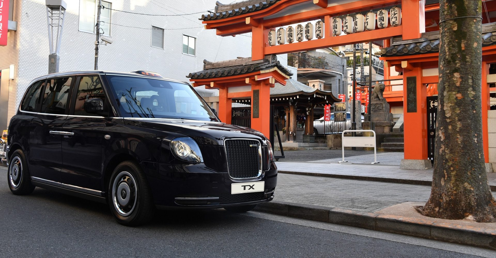 The new electrified London cab is now on sale in Japan