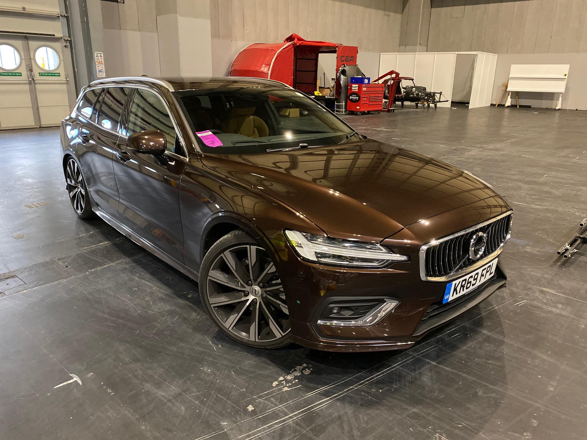 The V60 is the smallest estate in Volvo's range