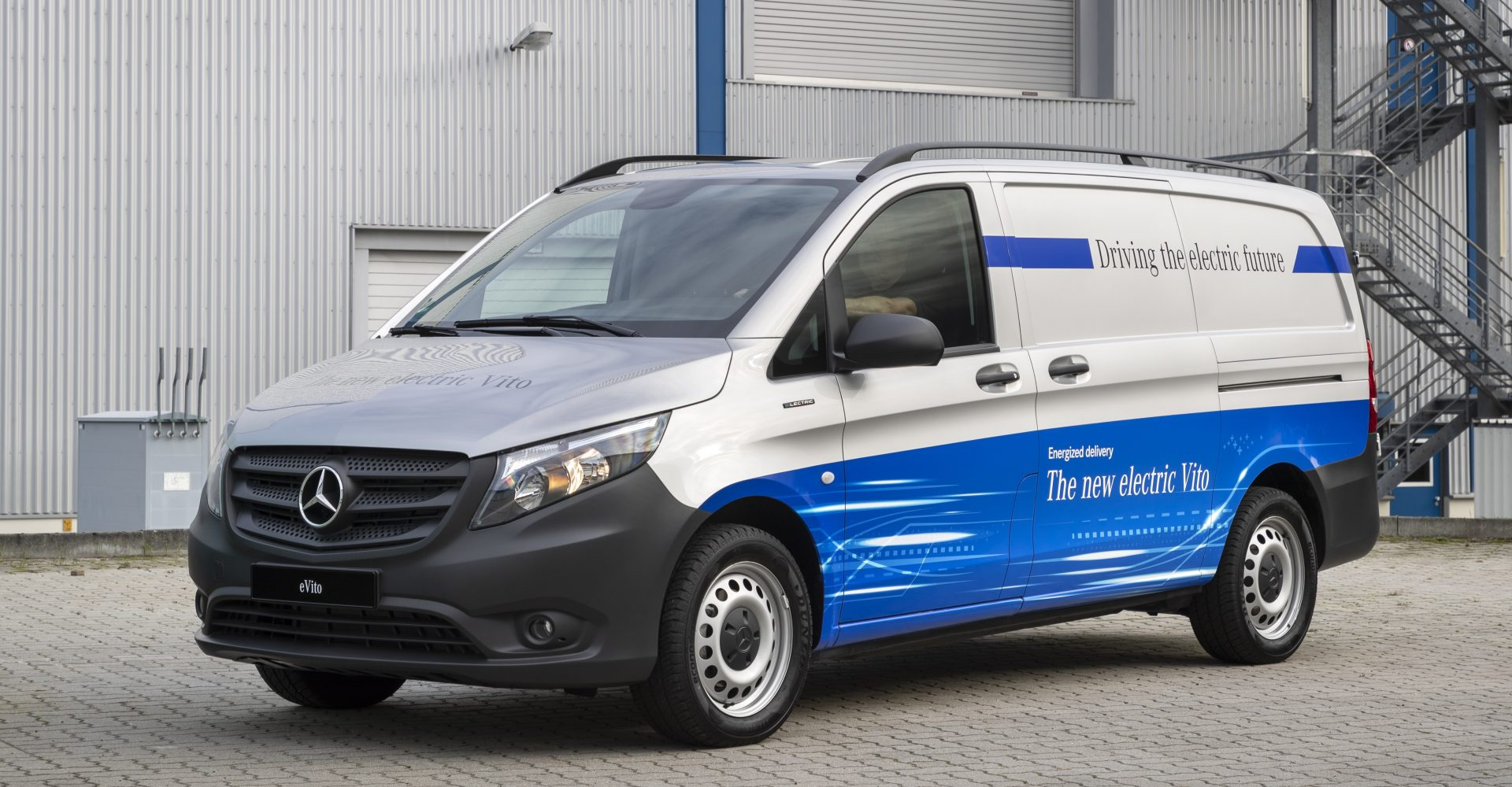 Mercedes-Benz reveals pricing and specifications for all-electric eVito van
