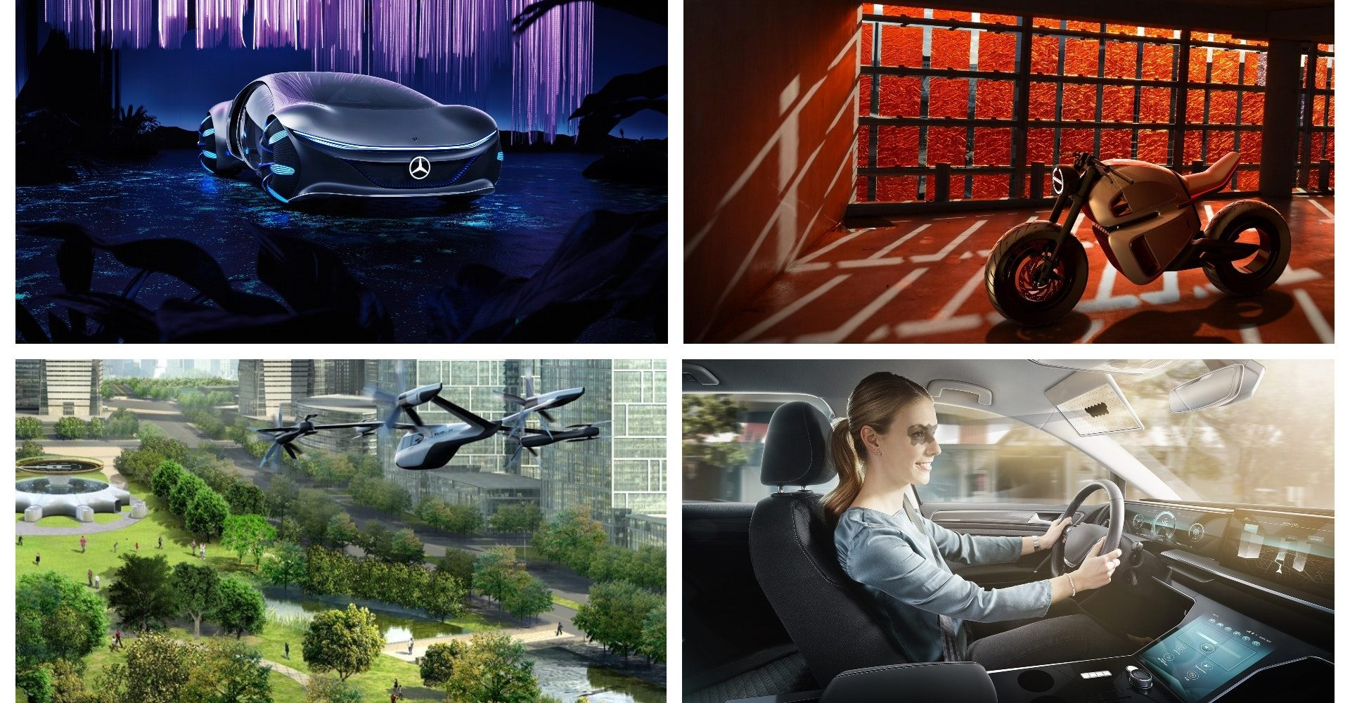 What did the automotive world reveal at CES 2020?