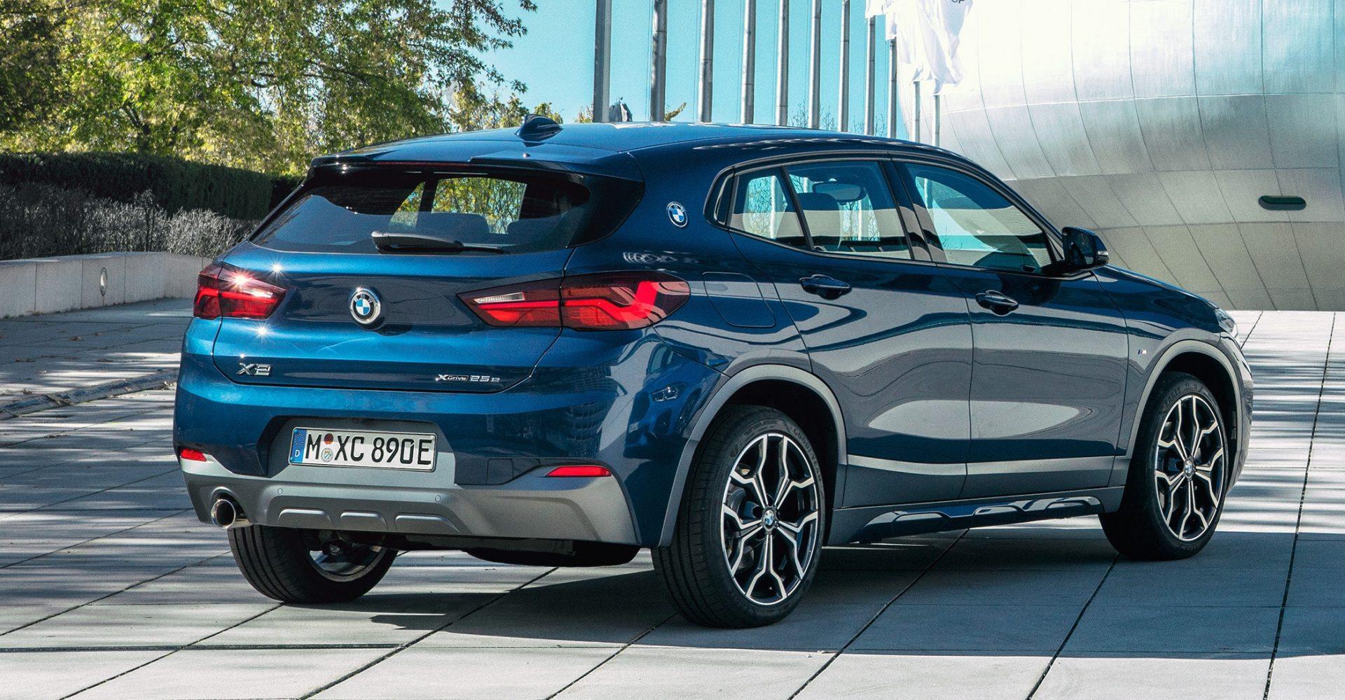 BMW adds hybrid power to X2 range