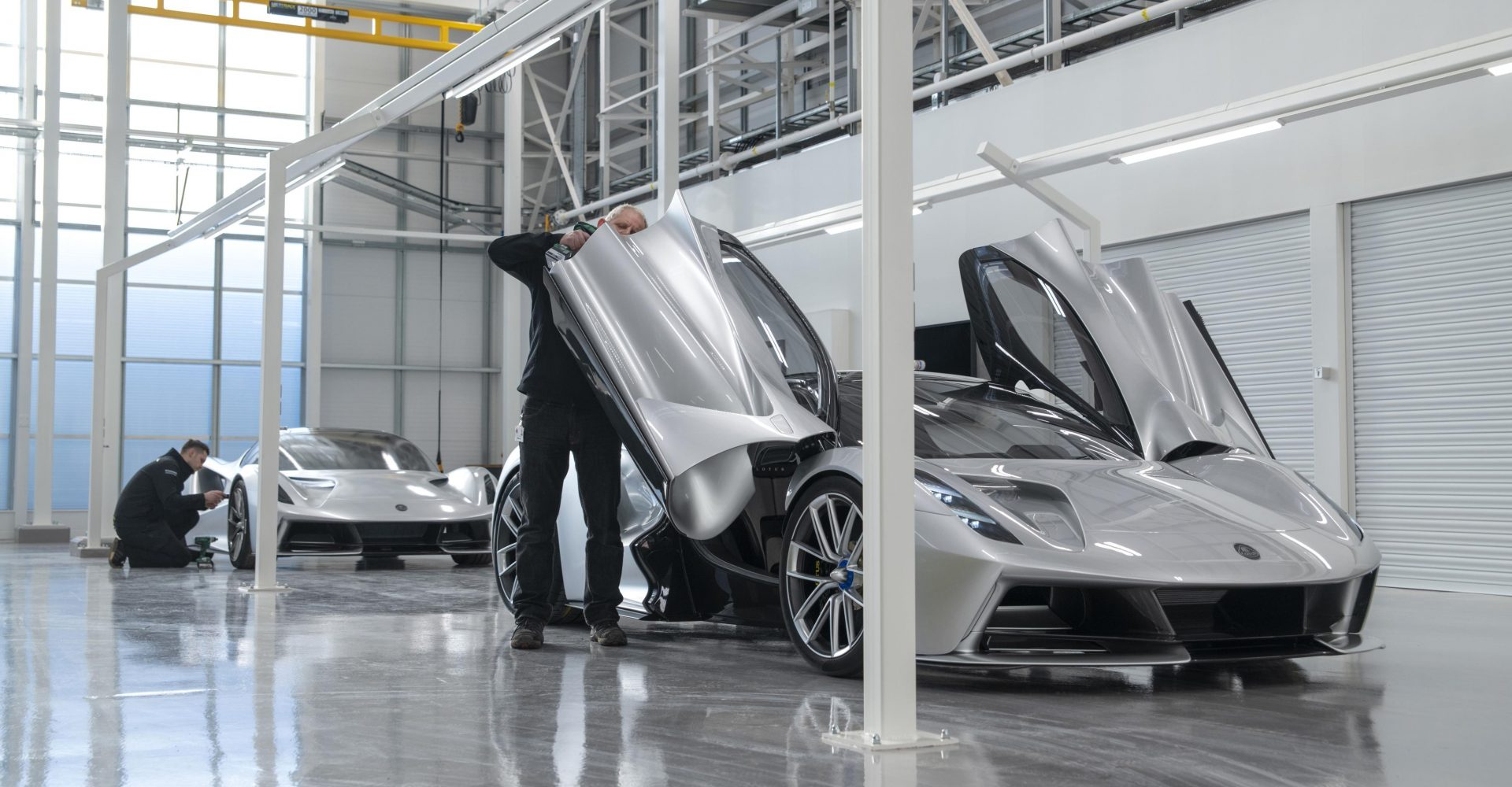 Lotus opens new factory for its all-electric Evija hypercar