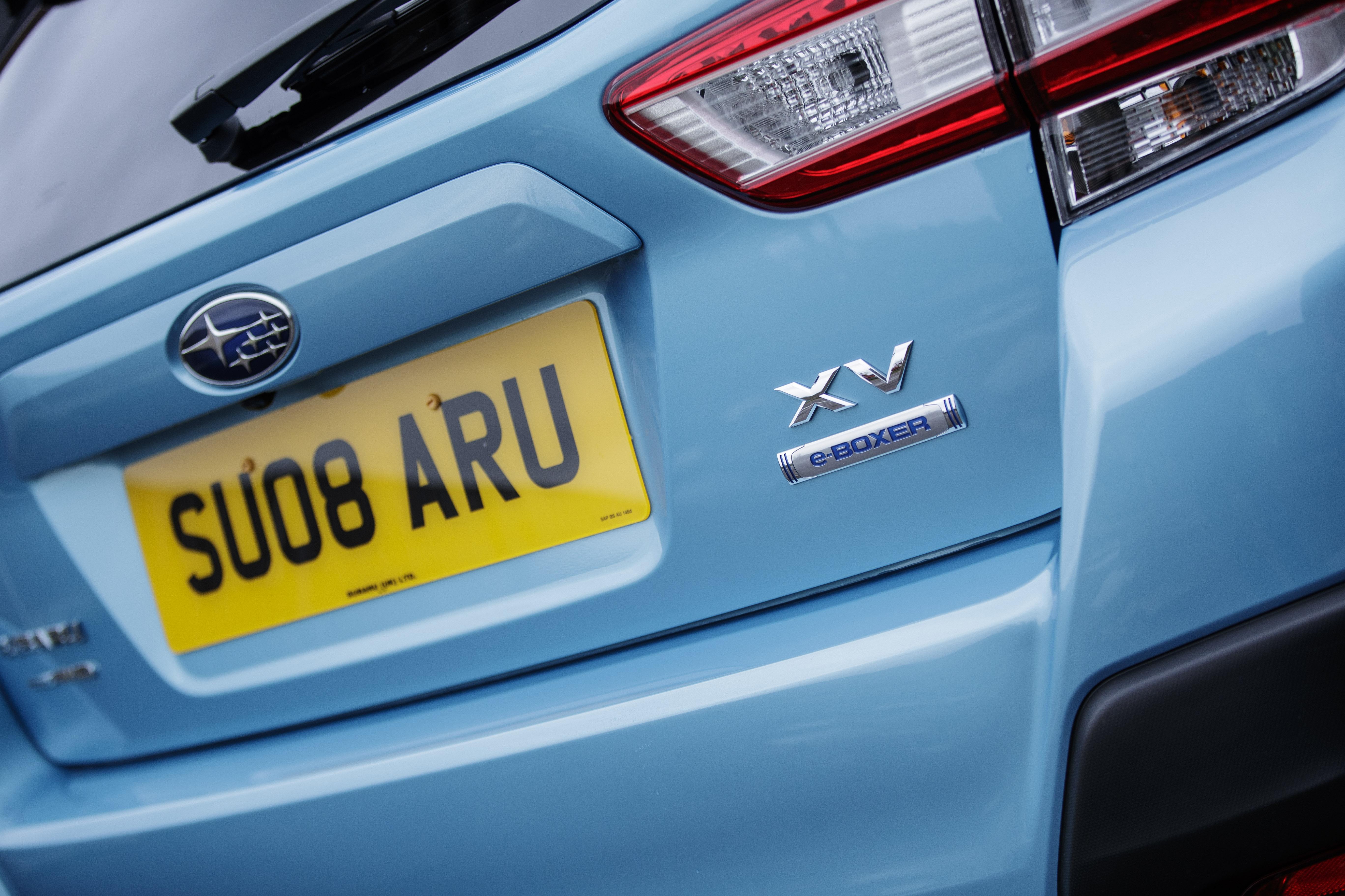 Subaru XV e-Boxer detail