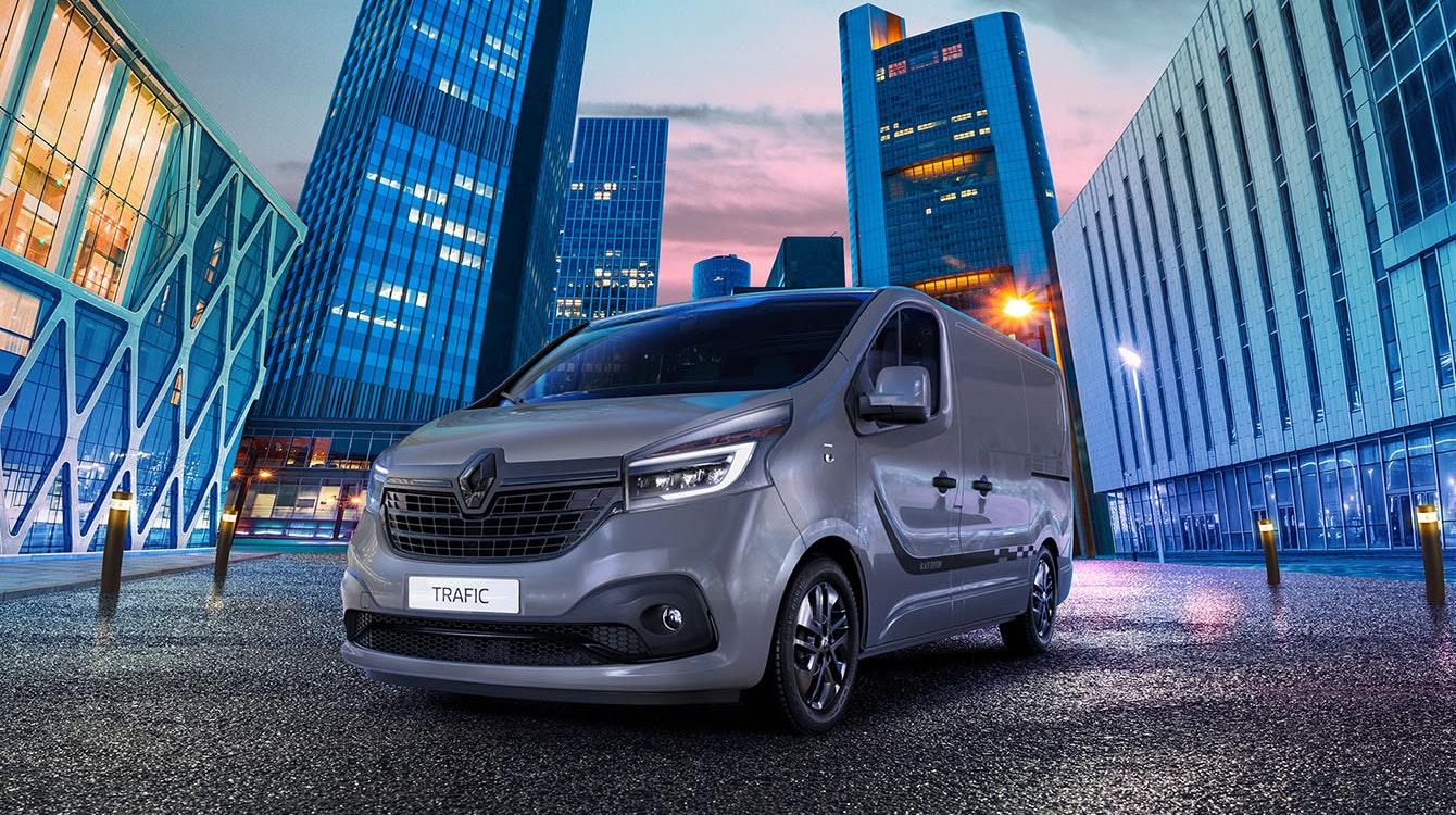 Renault introduces stylish Black Edition to Trafic van range