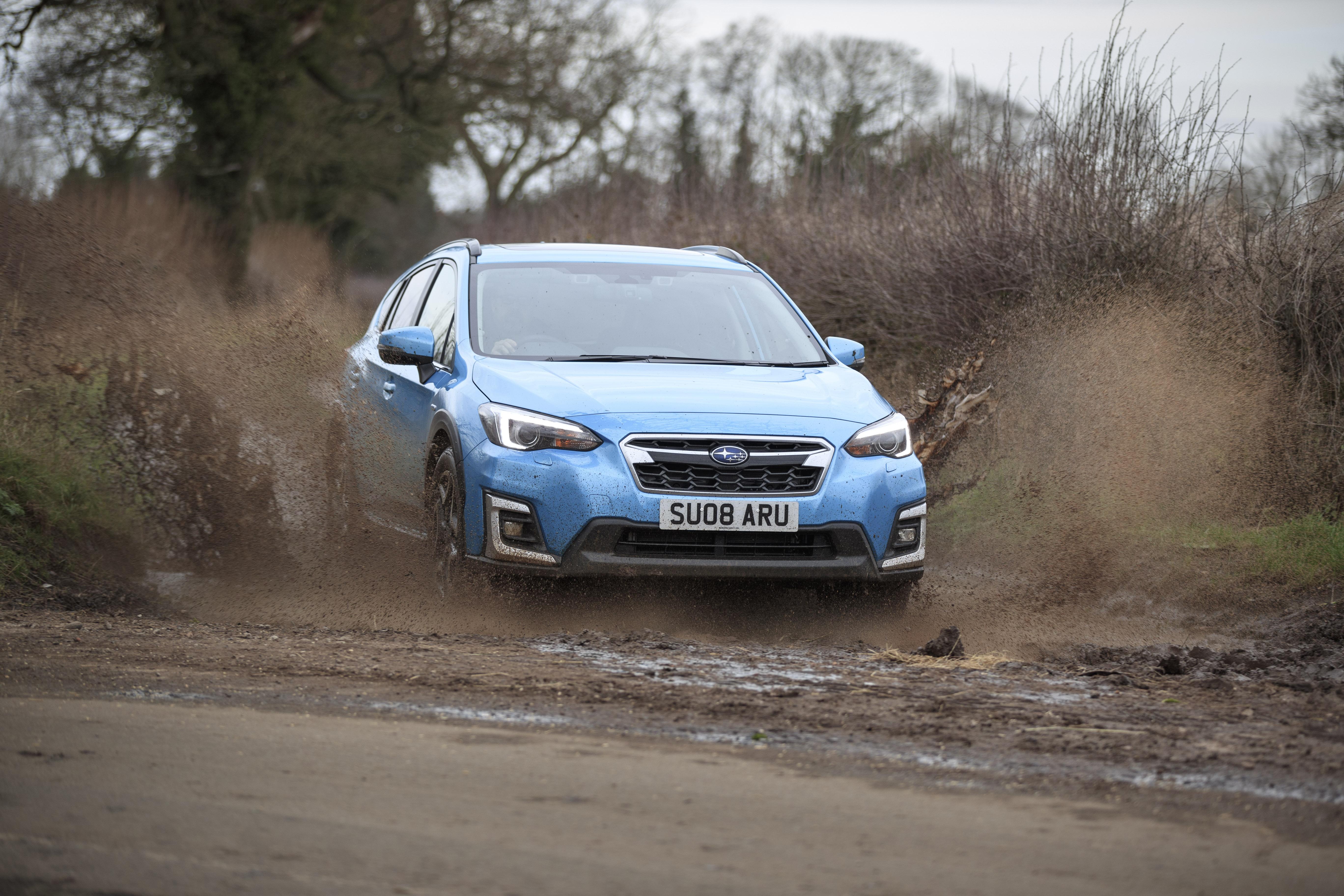 Subaru off-road dynamic
