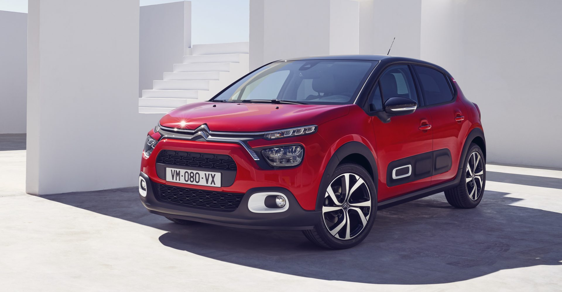 Citroen C3 refreshed with tweaked design