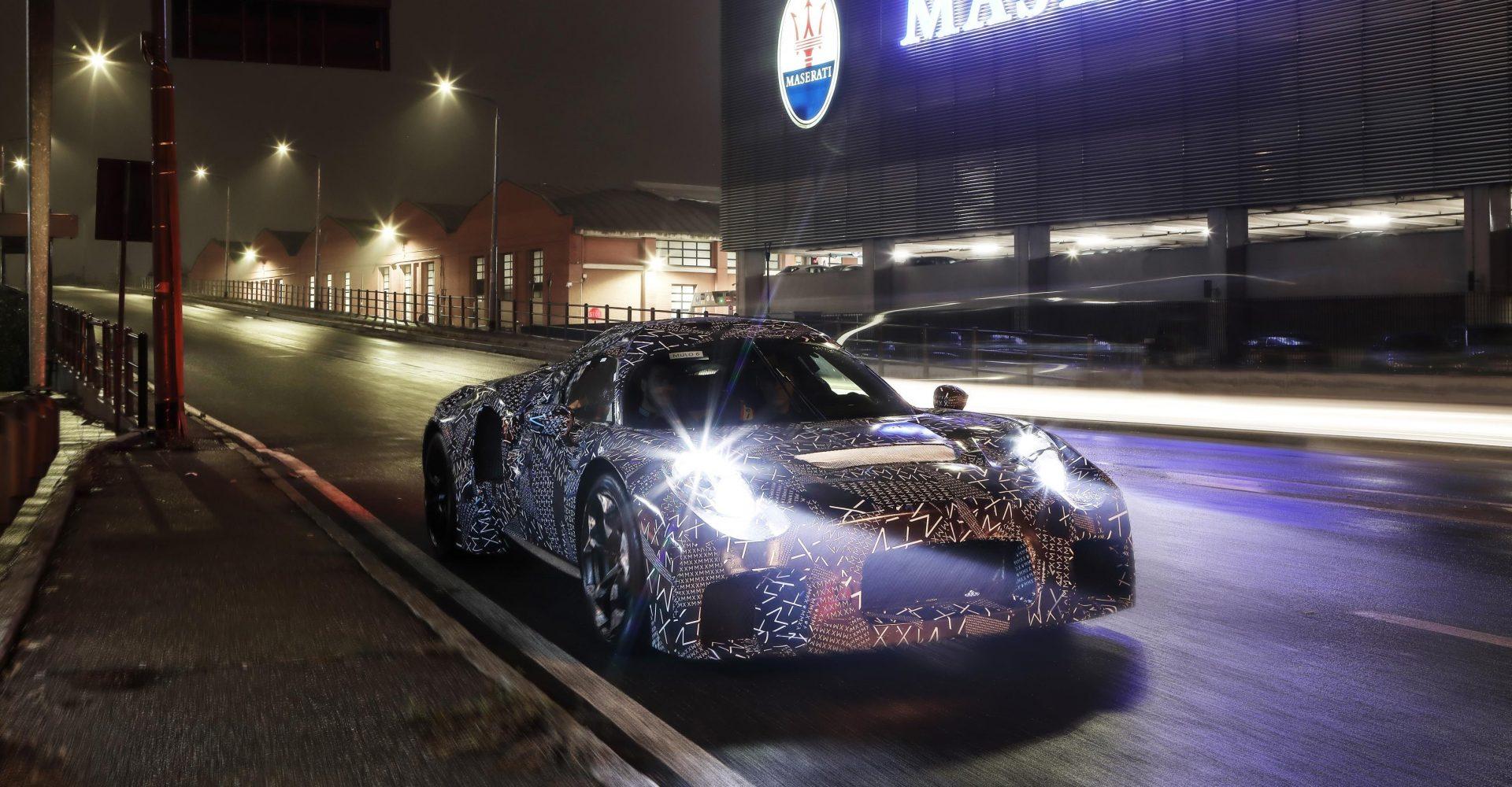 Maserati confirms MC20 name for upcoming supercar