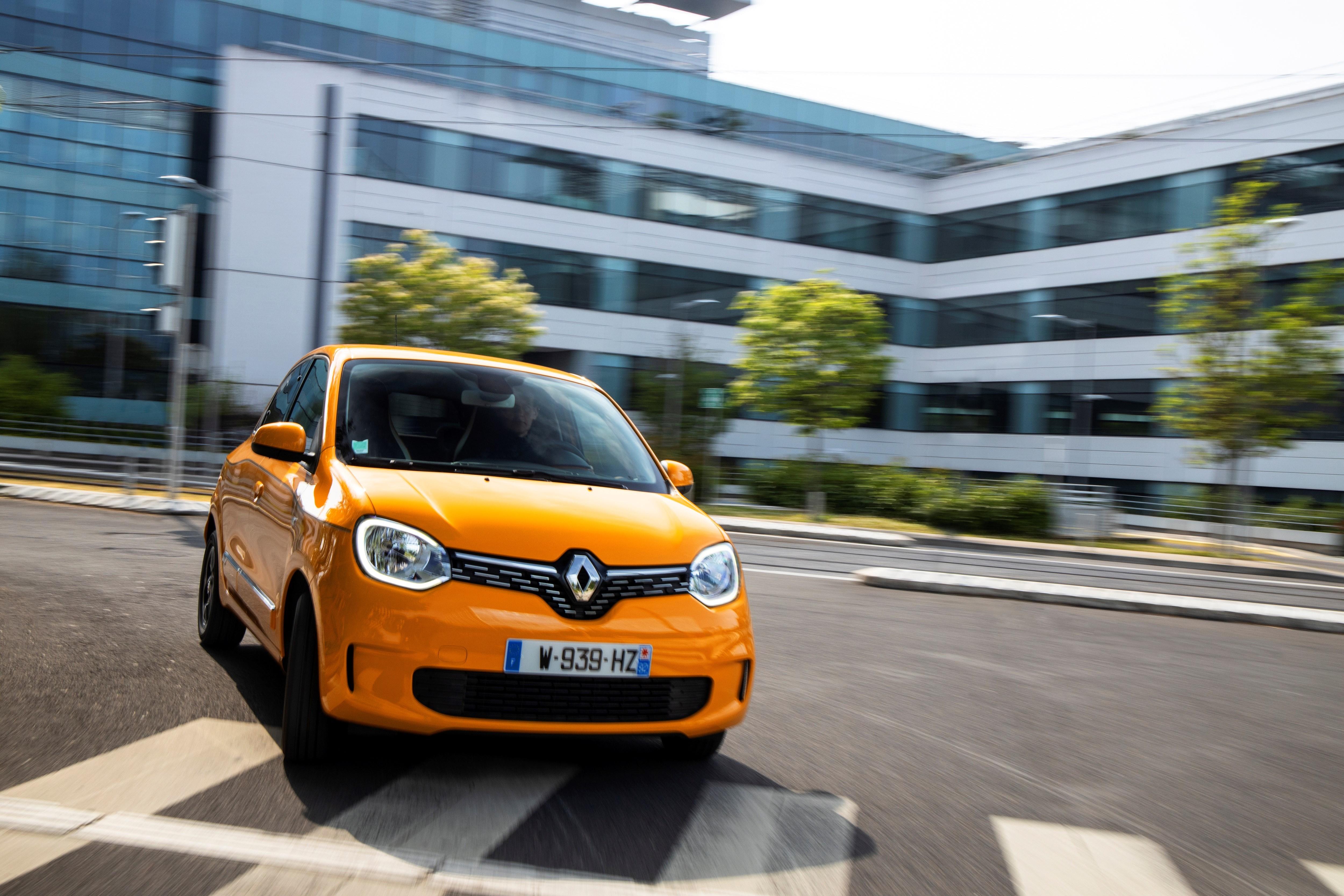 New Renault Twingo exterior