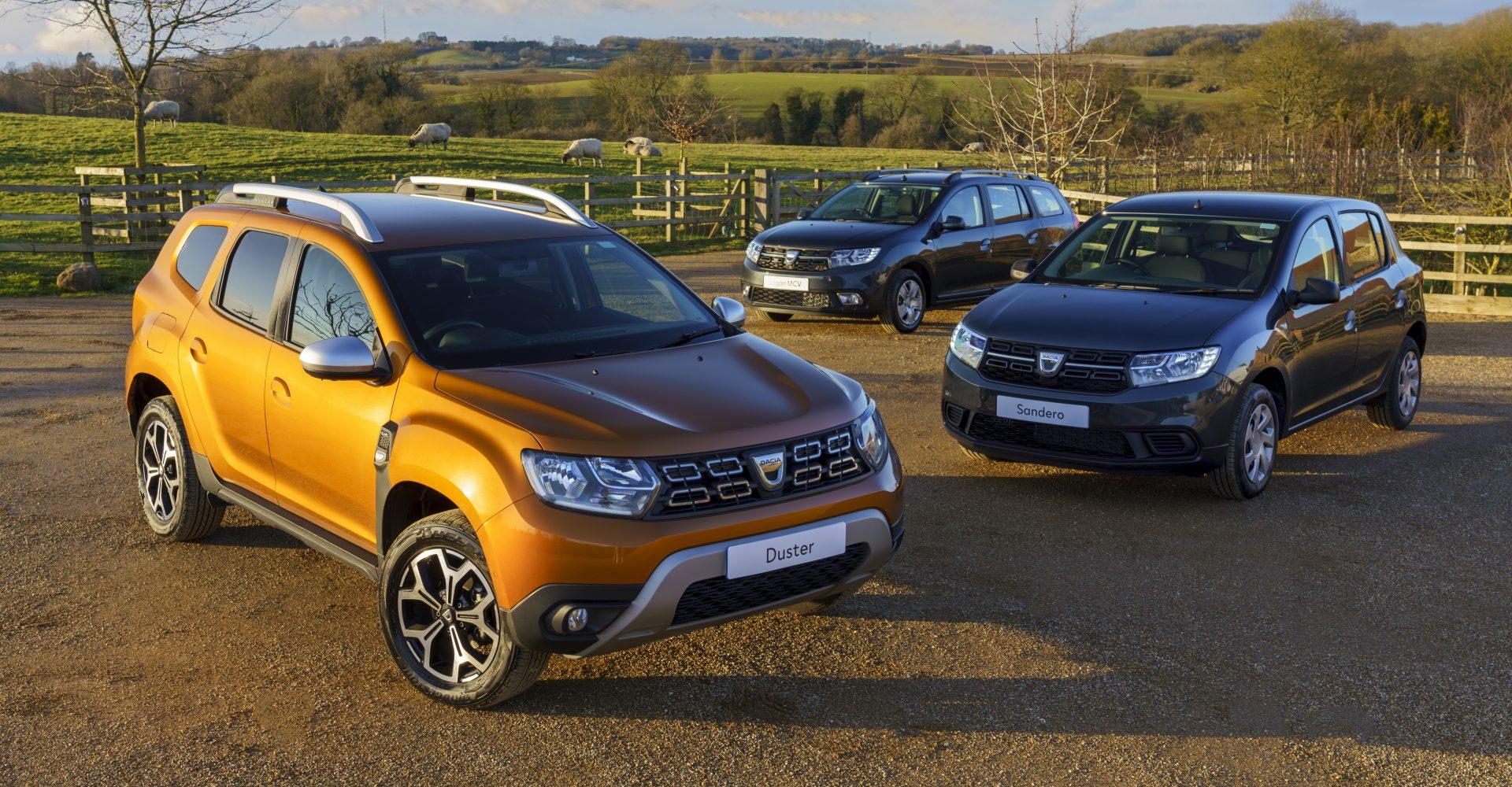 Dacia introduces LPG bi-fuel cars to the UK market