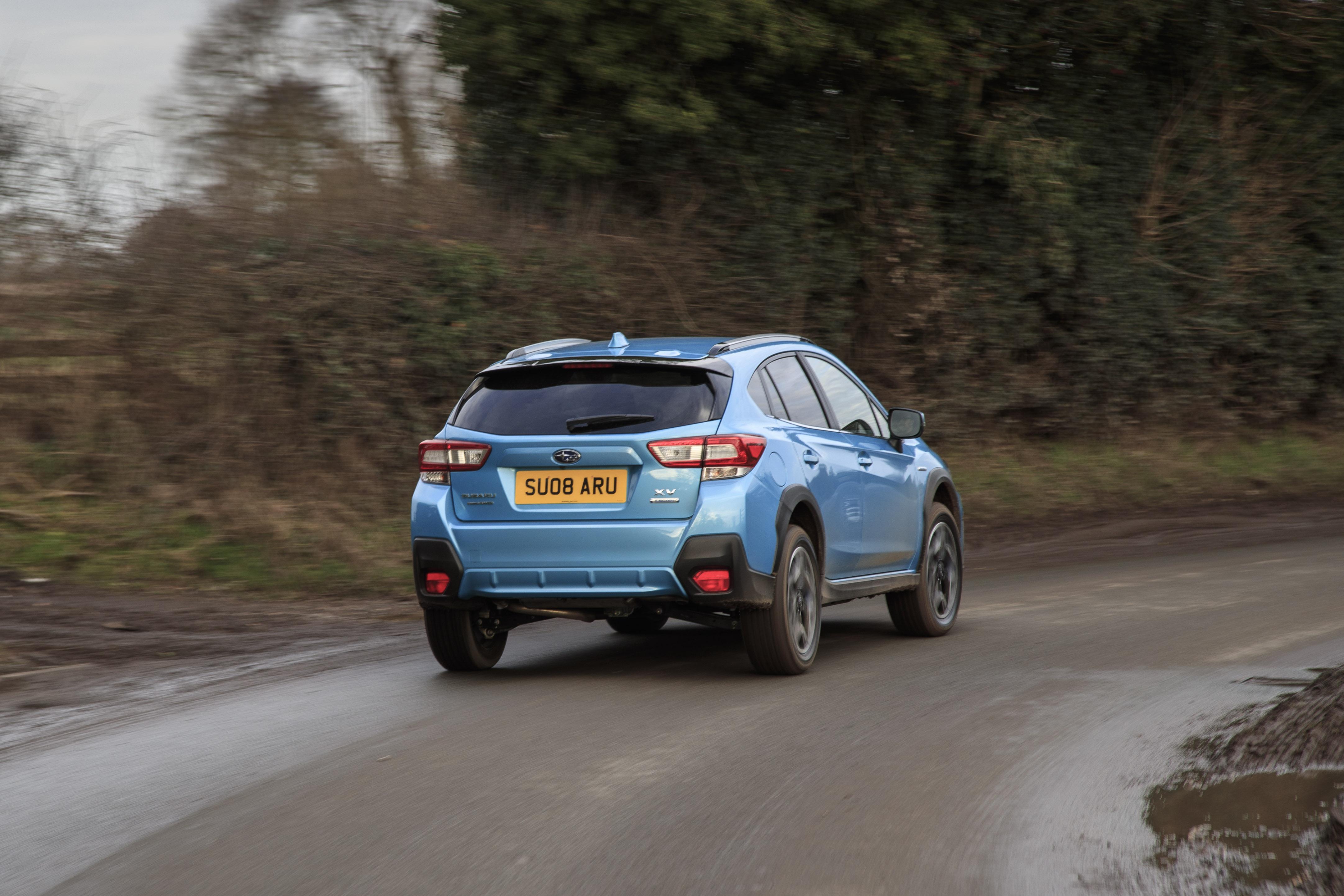 Subaru XV rear dynamic