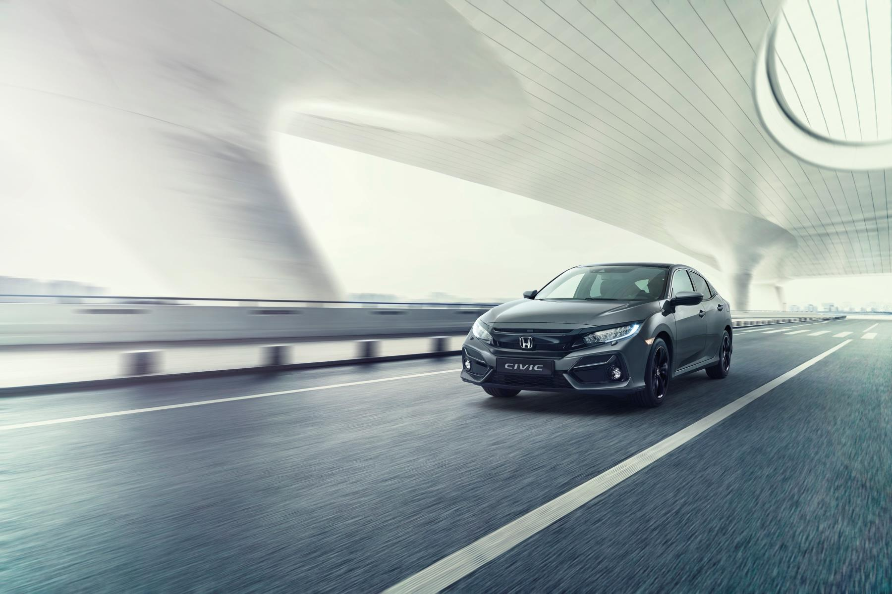 Honda Civic facelift exterior
