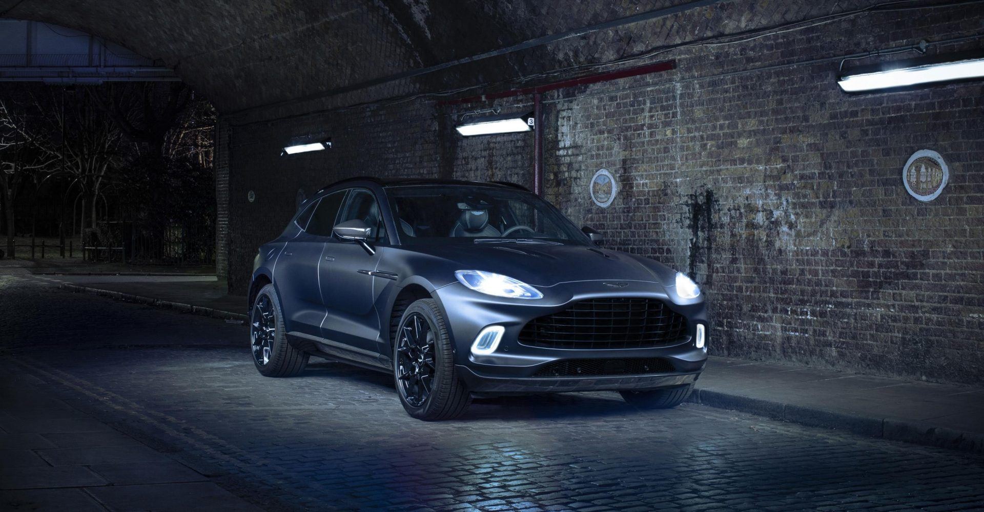 Aston Martin showcases bespoke Q services for DBX SUV