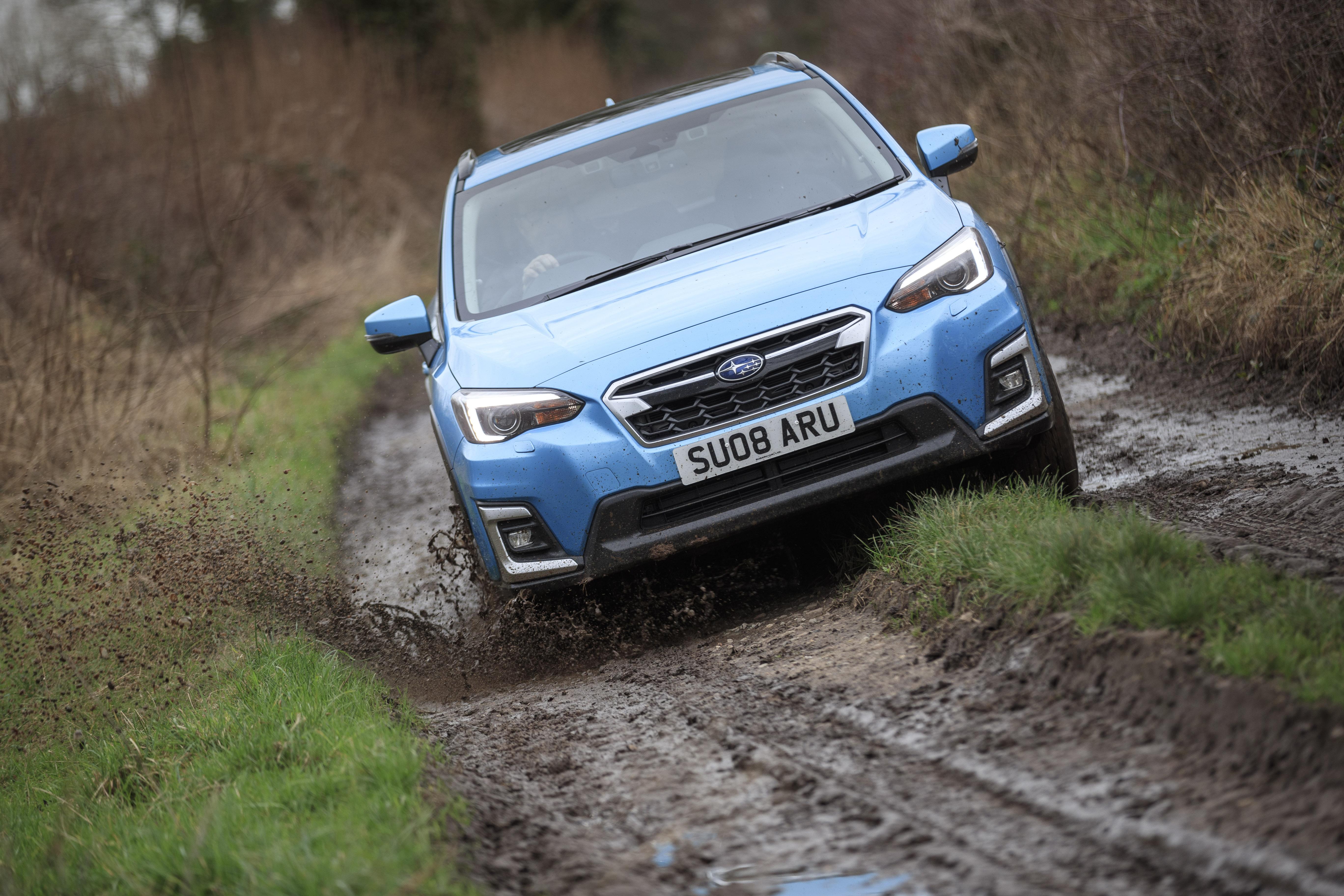Subaru XV off-road dynamic