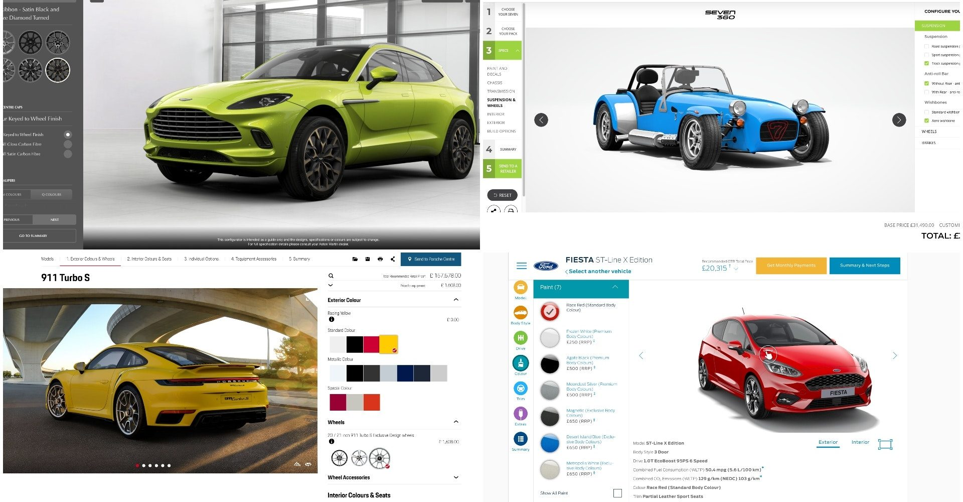 Are these the best online car configurators?