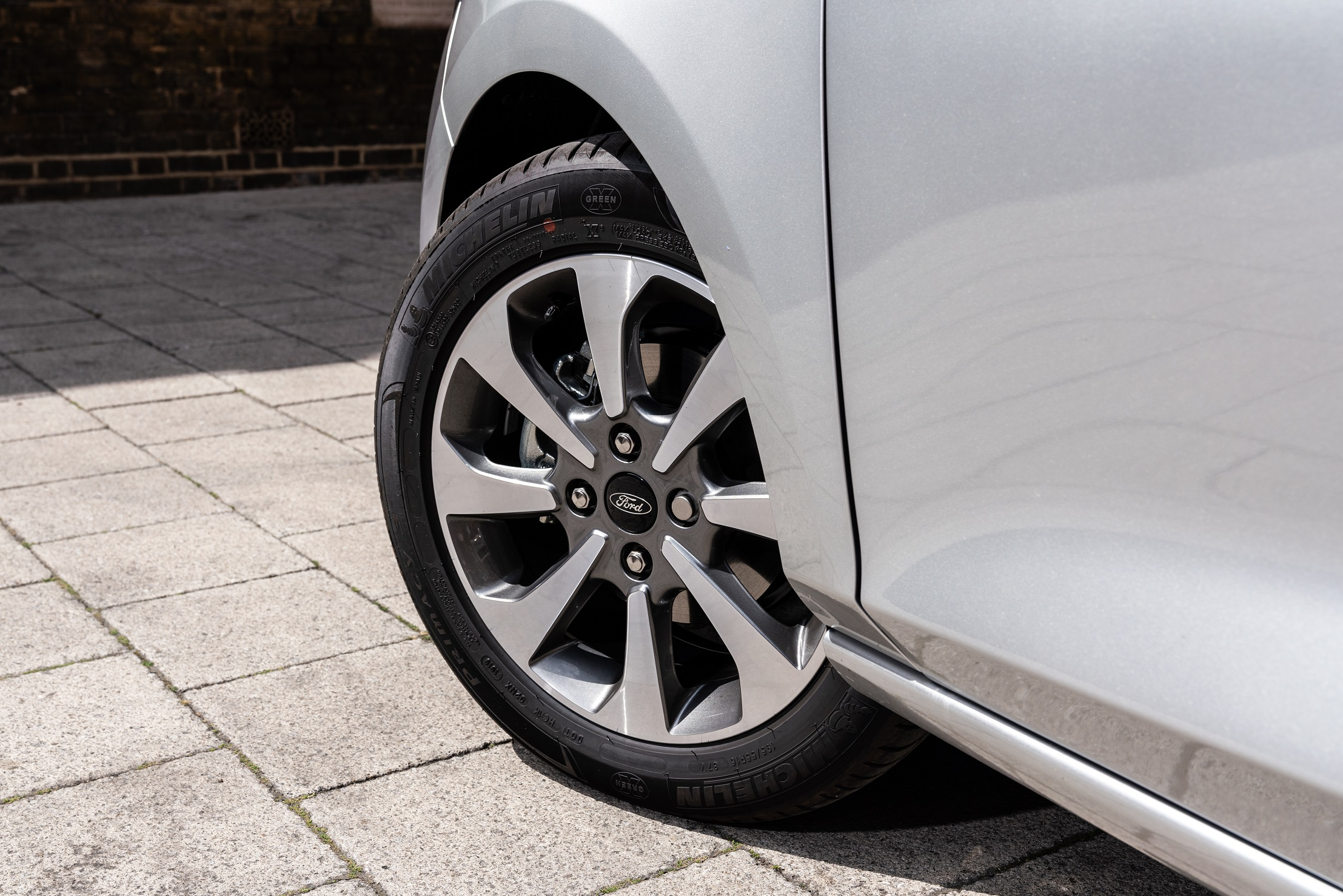 Fiesta Trend wheel detail
