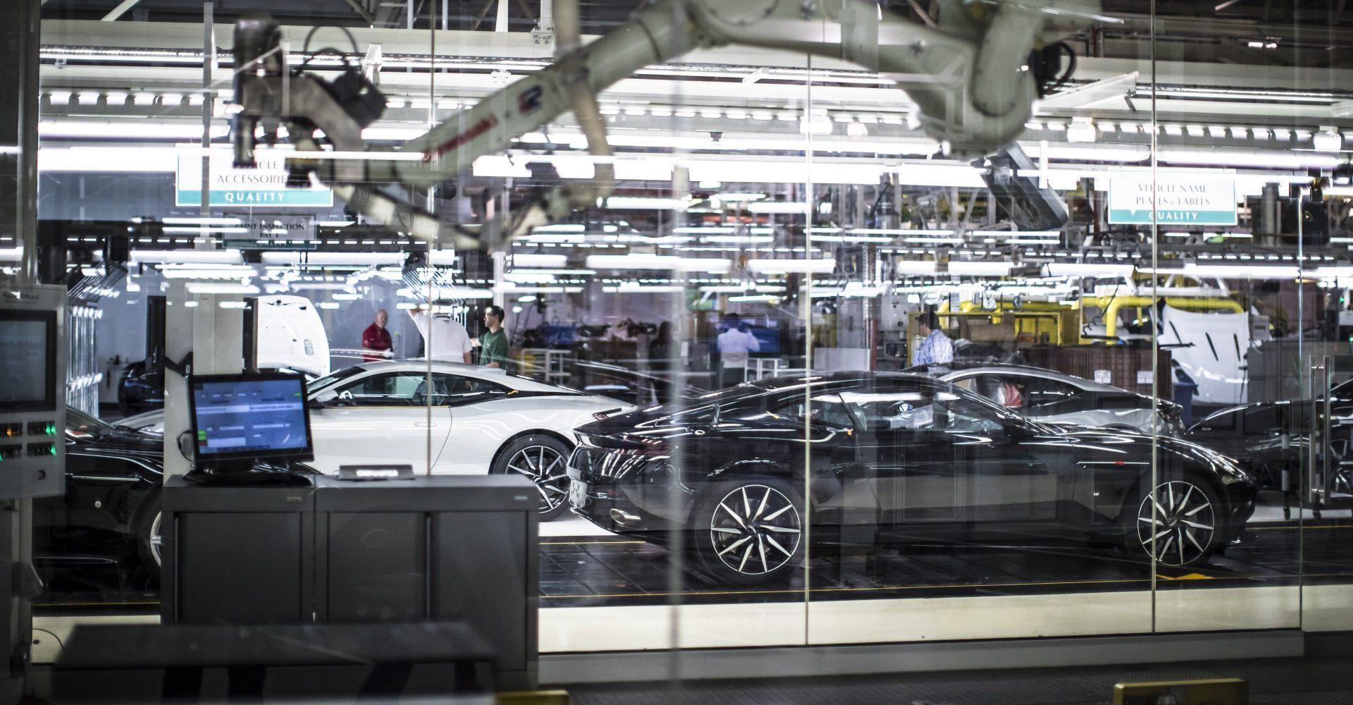 Coronavirus: Aston Martin suspends manufacturing following UK lockdown order