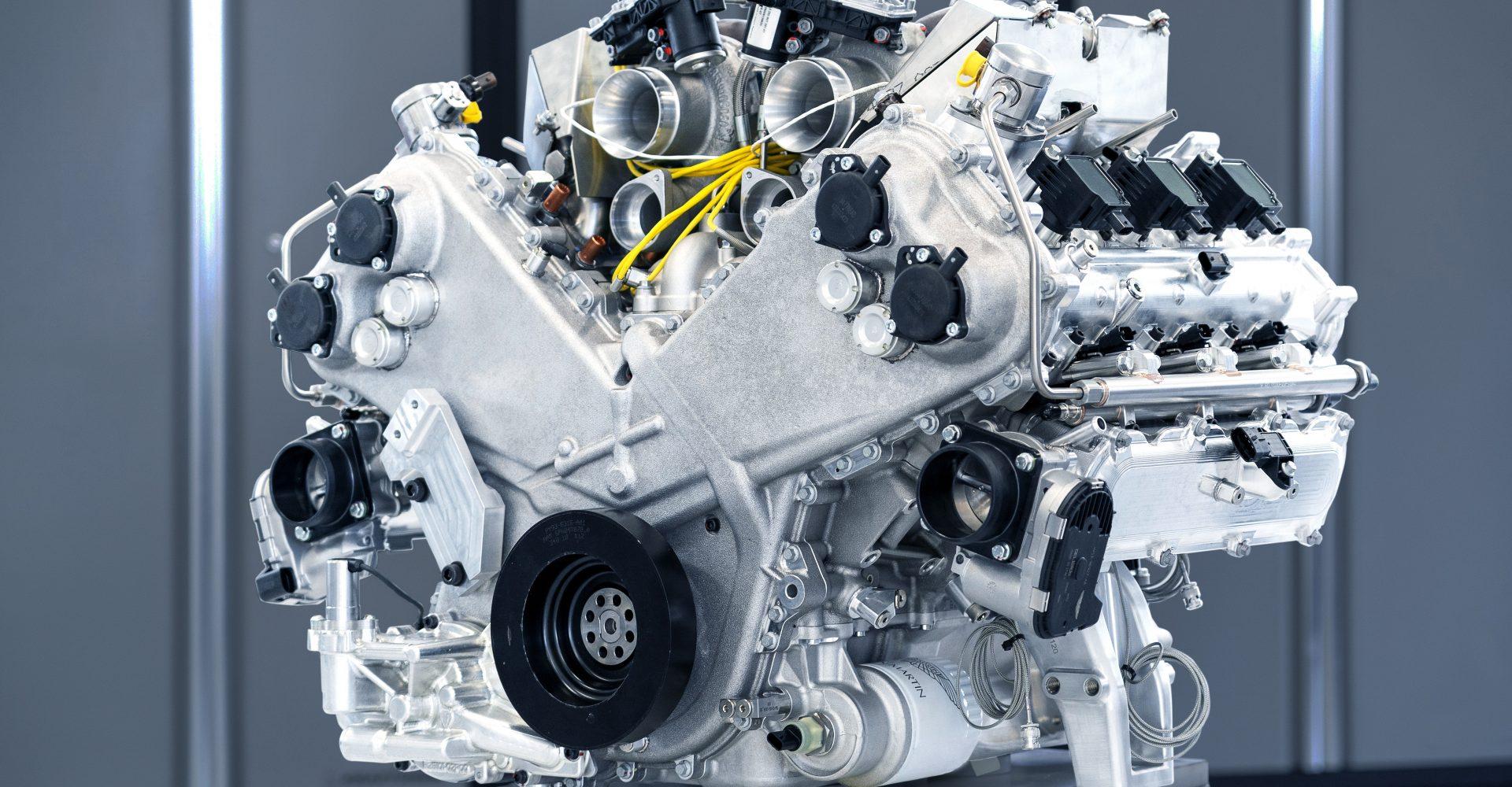 Aston Martin reveals details of all-new V6 engine