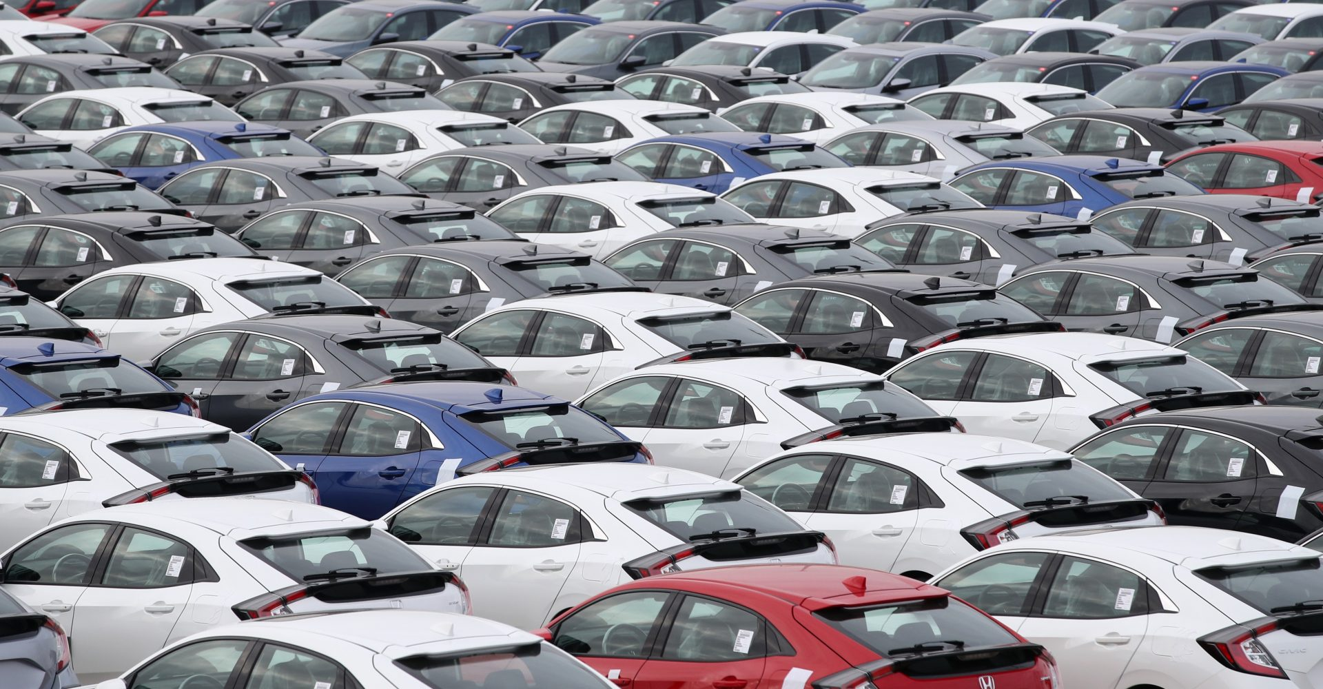 Demand for new cars down 44% in March