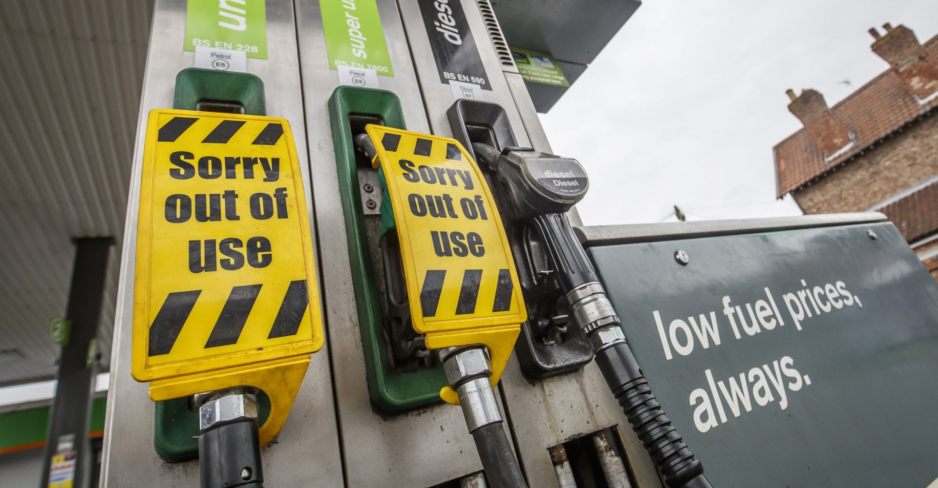 Rural petrol stations could be forced to close as fuel demand nosedives